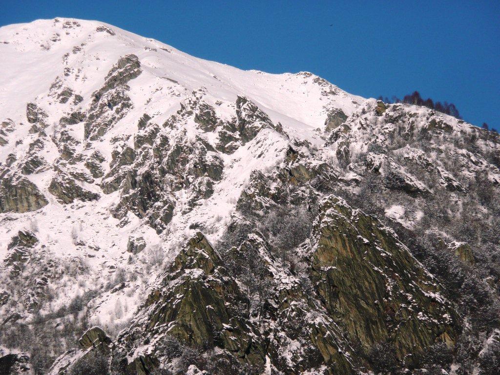 Zona miniere sopra Vasario e Denti della Caramia.