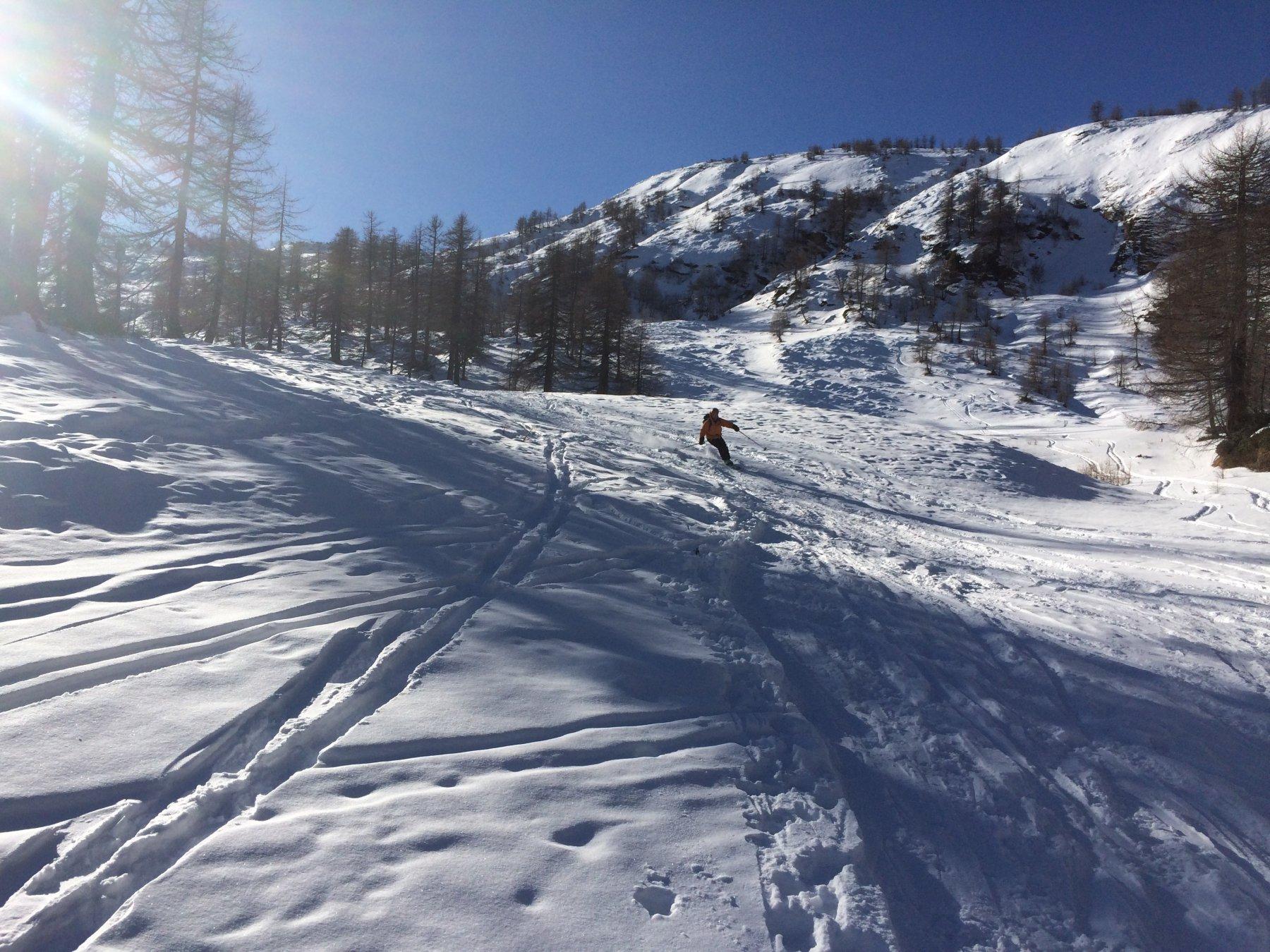 Orogna (Punta d') e Monte Cazzola da Alpe Devero 2017-12-03
