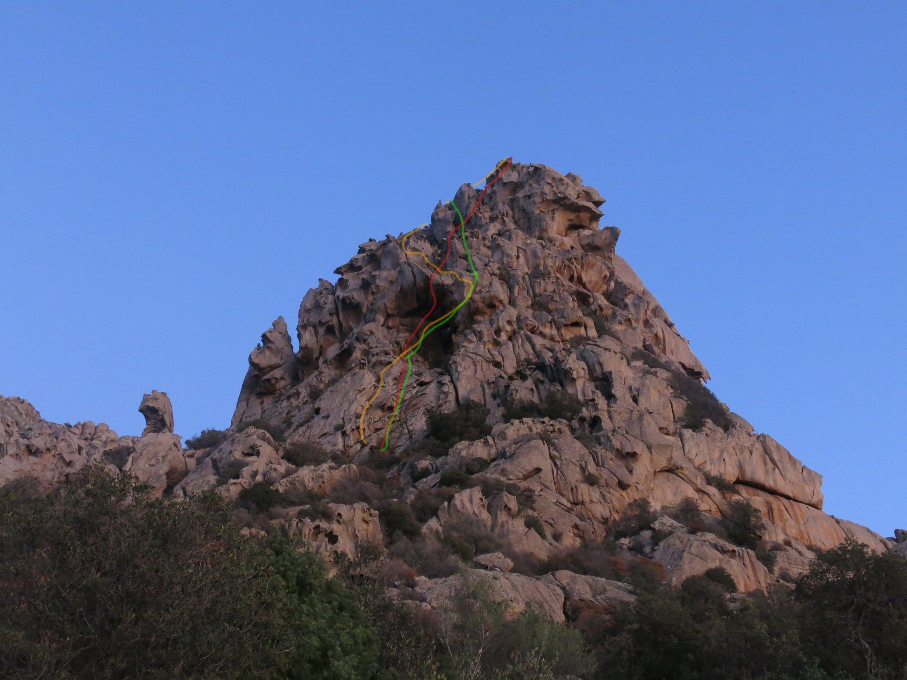 parete Nord Ovest della punta Balbacanu