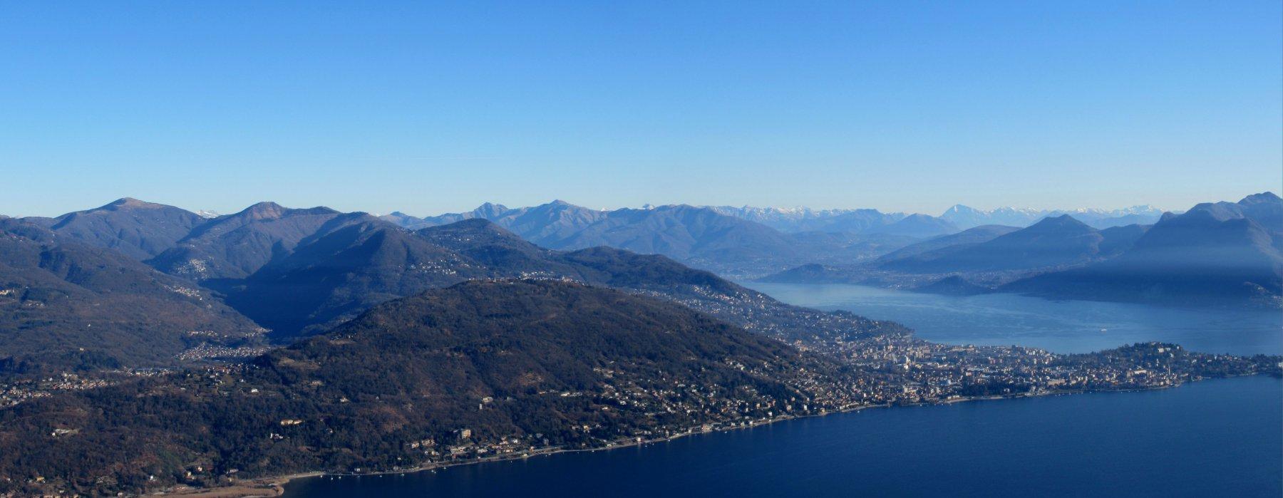 Vista sul Lago Maggiore e Verbania