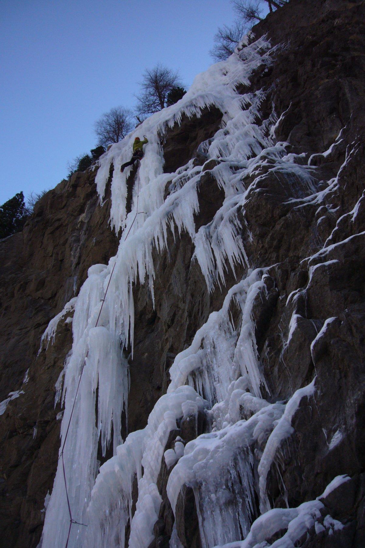 Crux 2 glace fragile à gauche