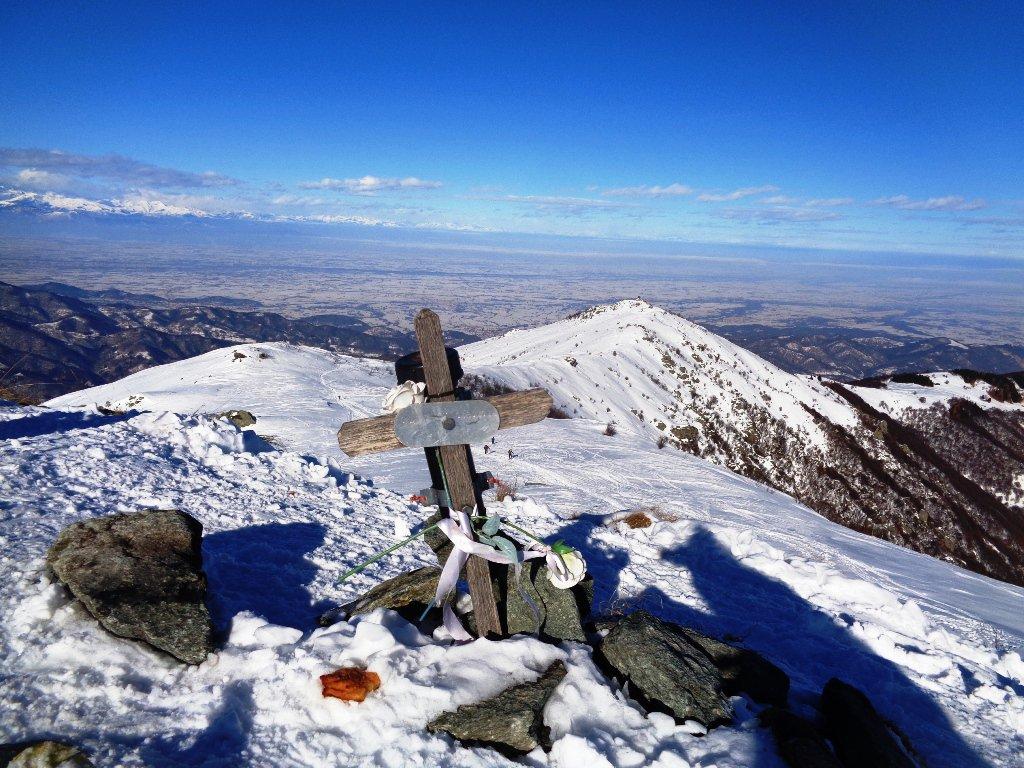 la dorsale e il Monte Pigna