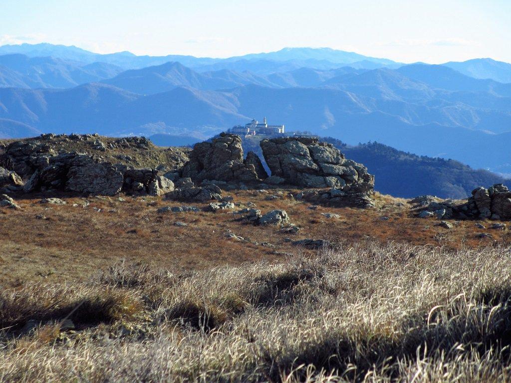 Figogna (Monte), Nostra Signora della Guardia da Acquasanta per il Monte Penello 2017-12-09