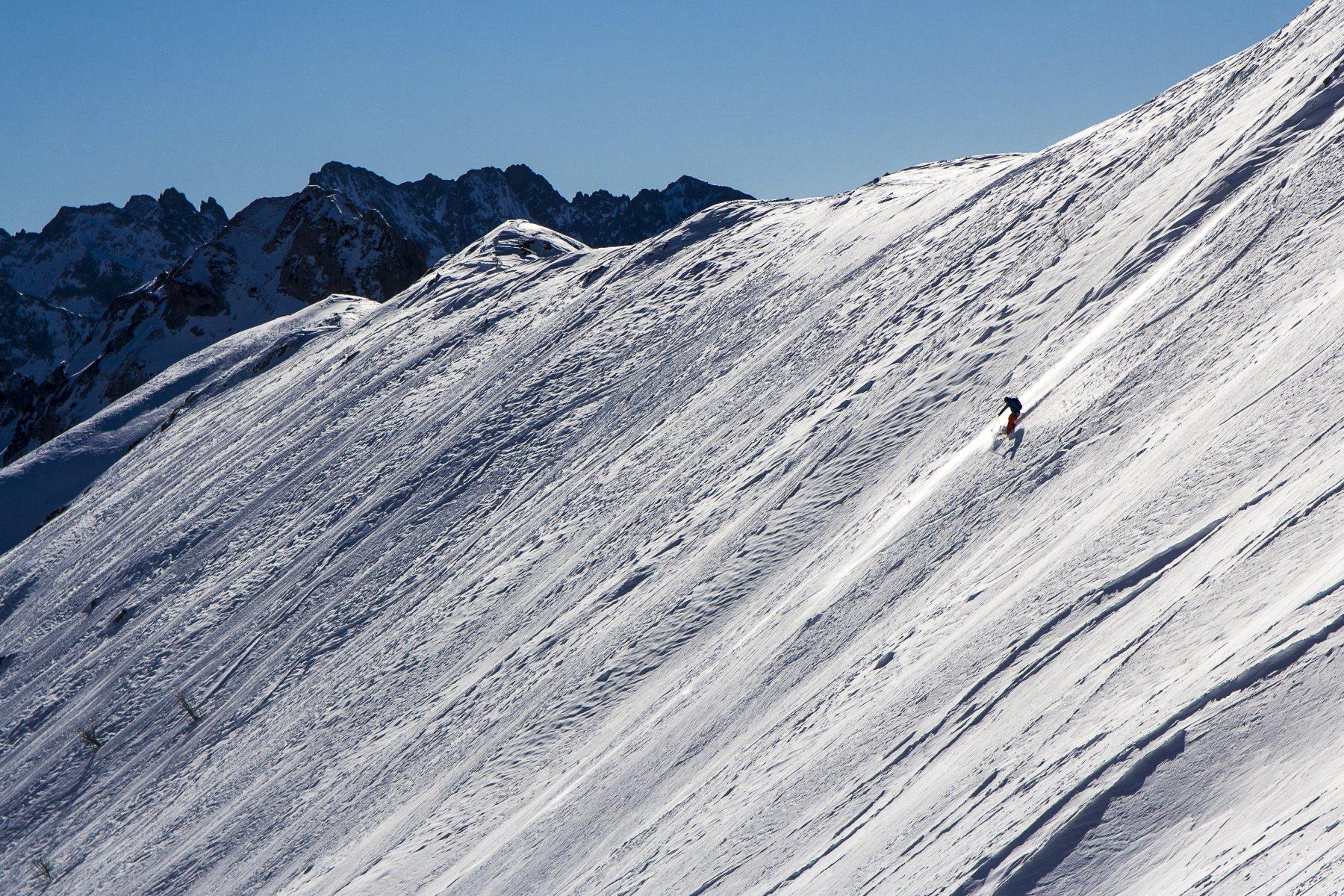 Scialpinisti in discesa