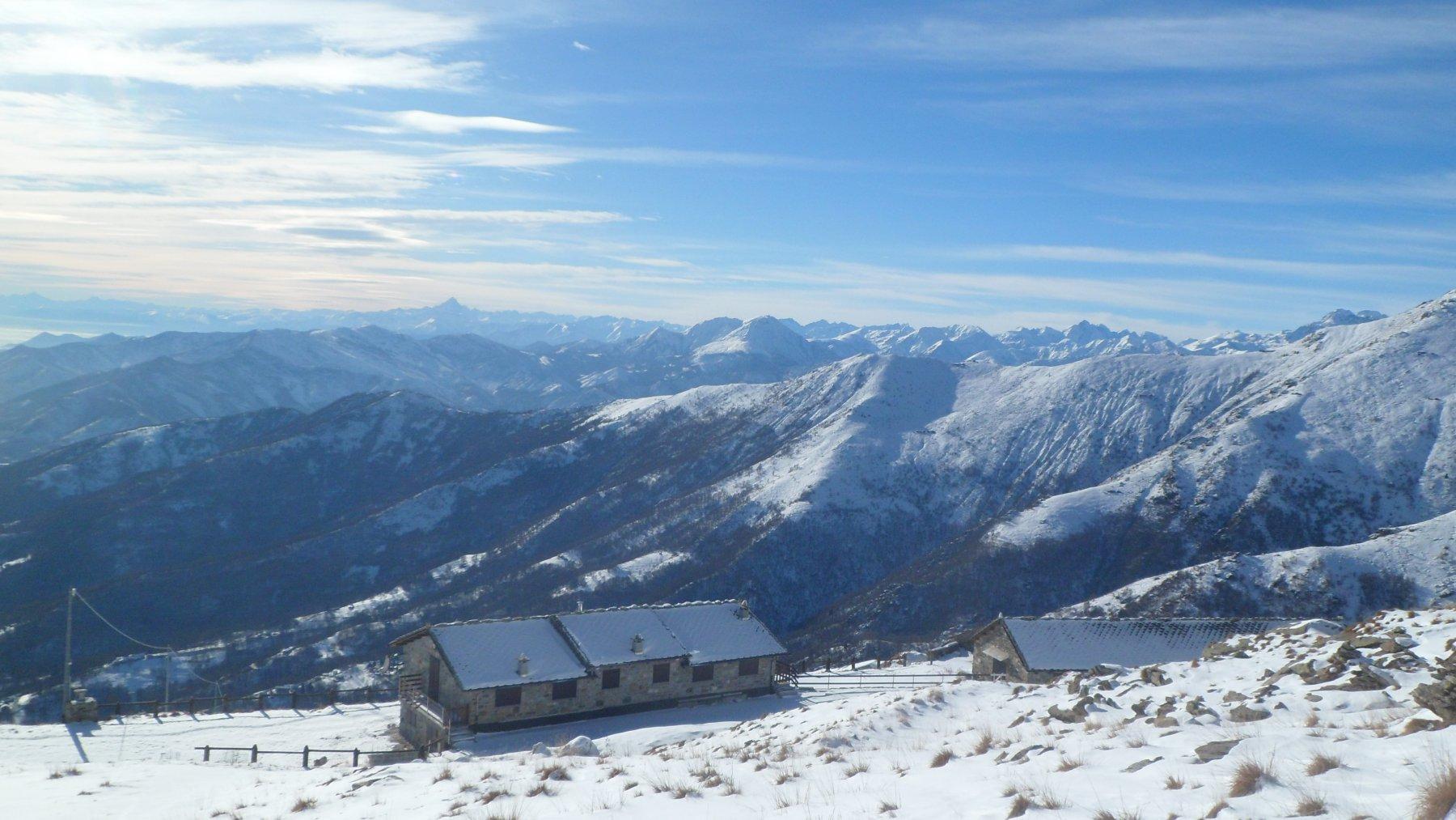 Panorama dall'Alpe Soglia