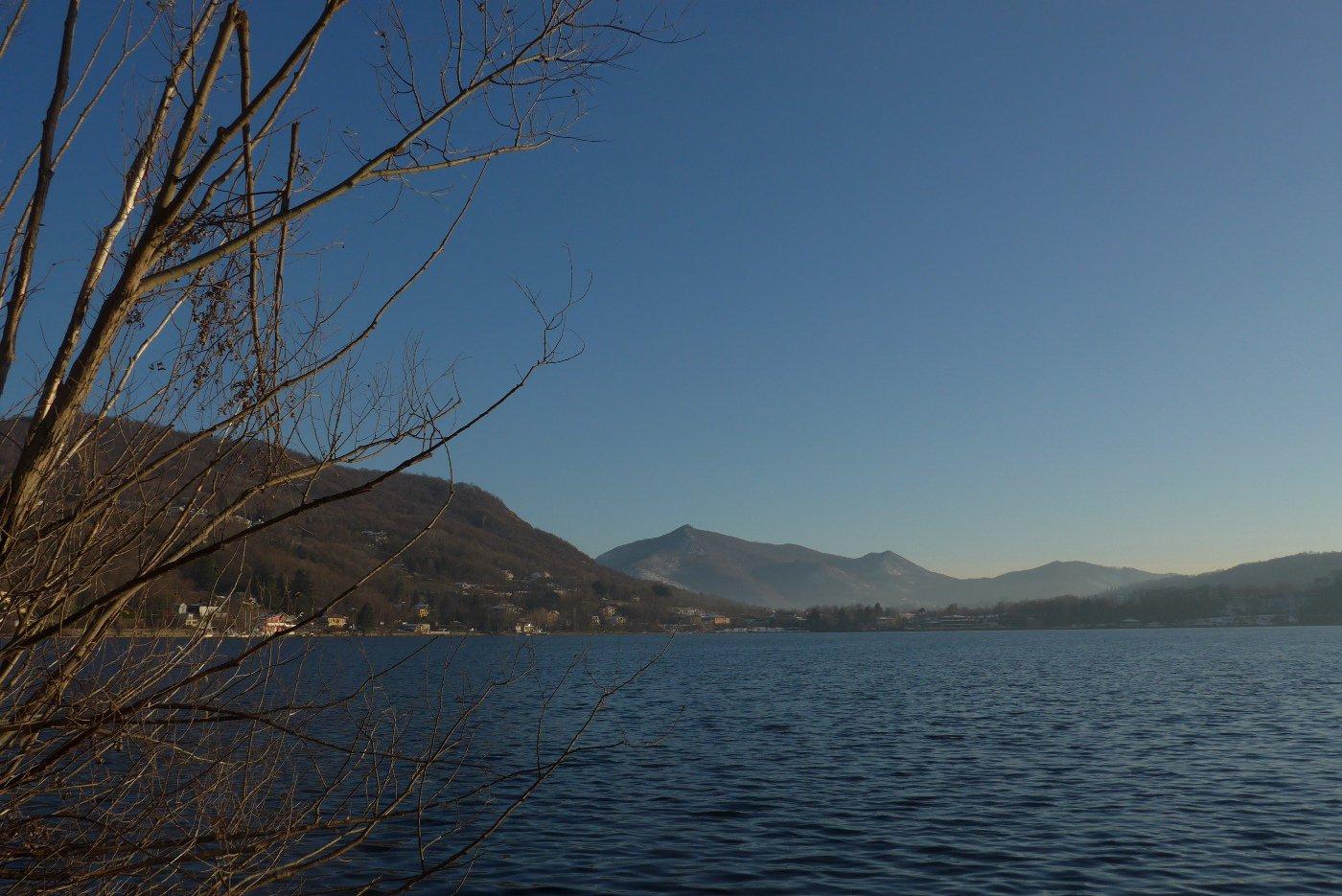 Panorama sul Lago Grande