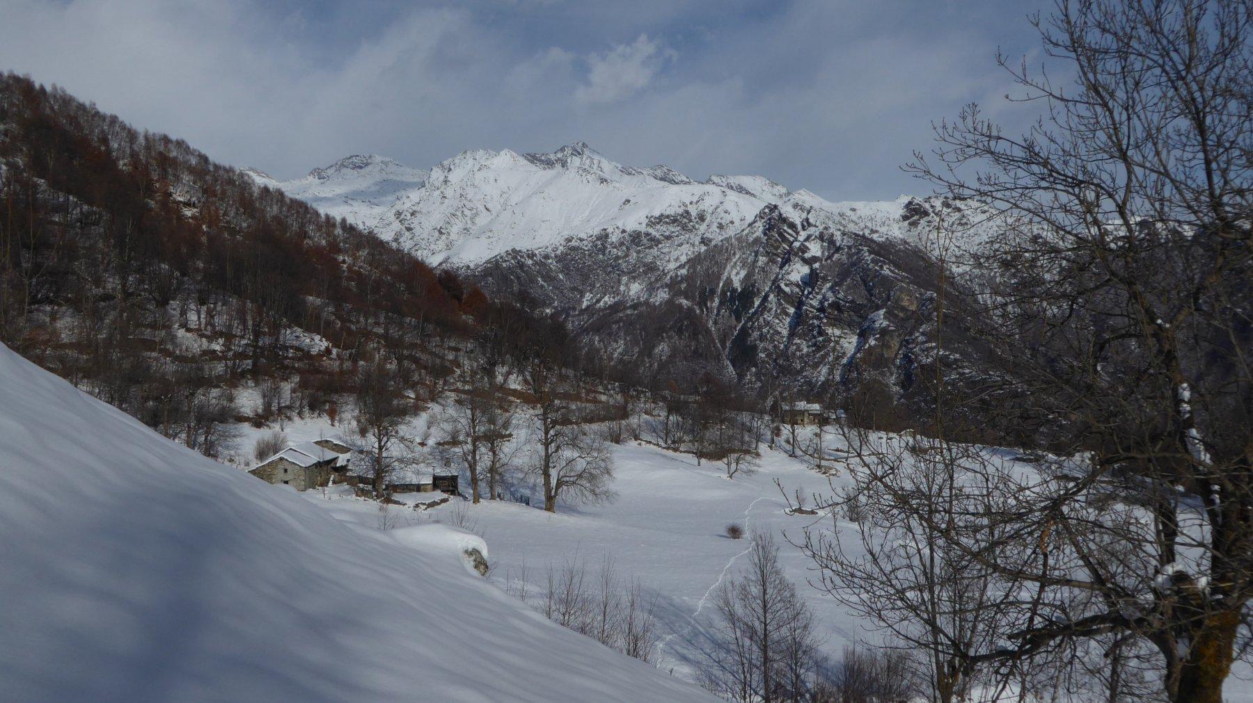 Panorama su Pian Muliner