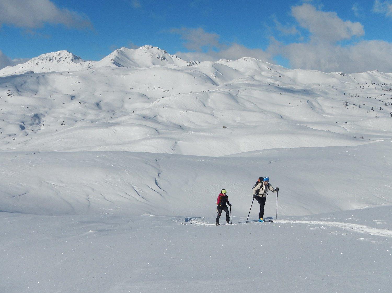 sullo sfondo Monte Gimont