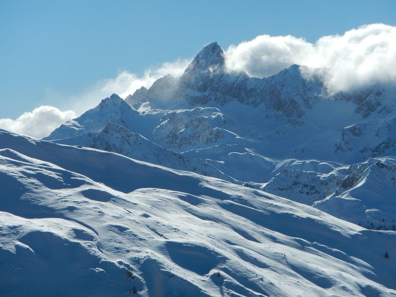 Pic de Rochebrune visto dalla cima