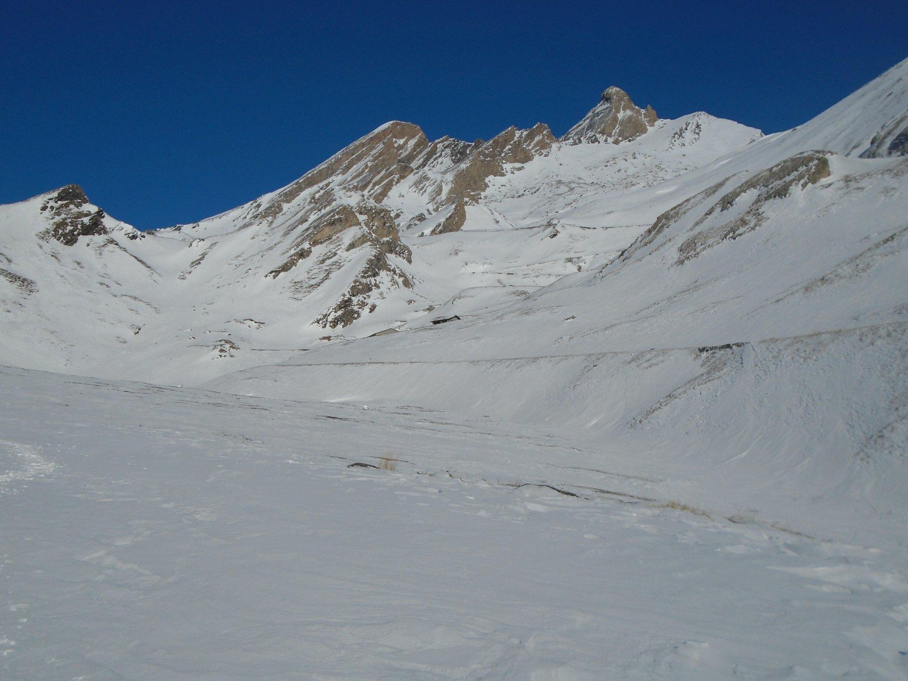 Poca neve sul versante sx orografico