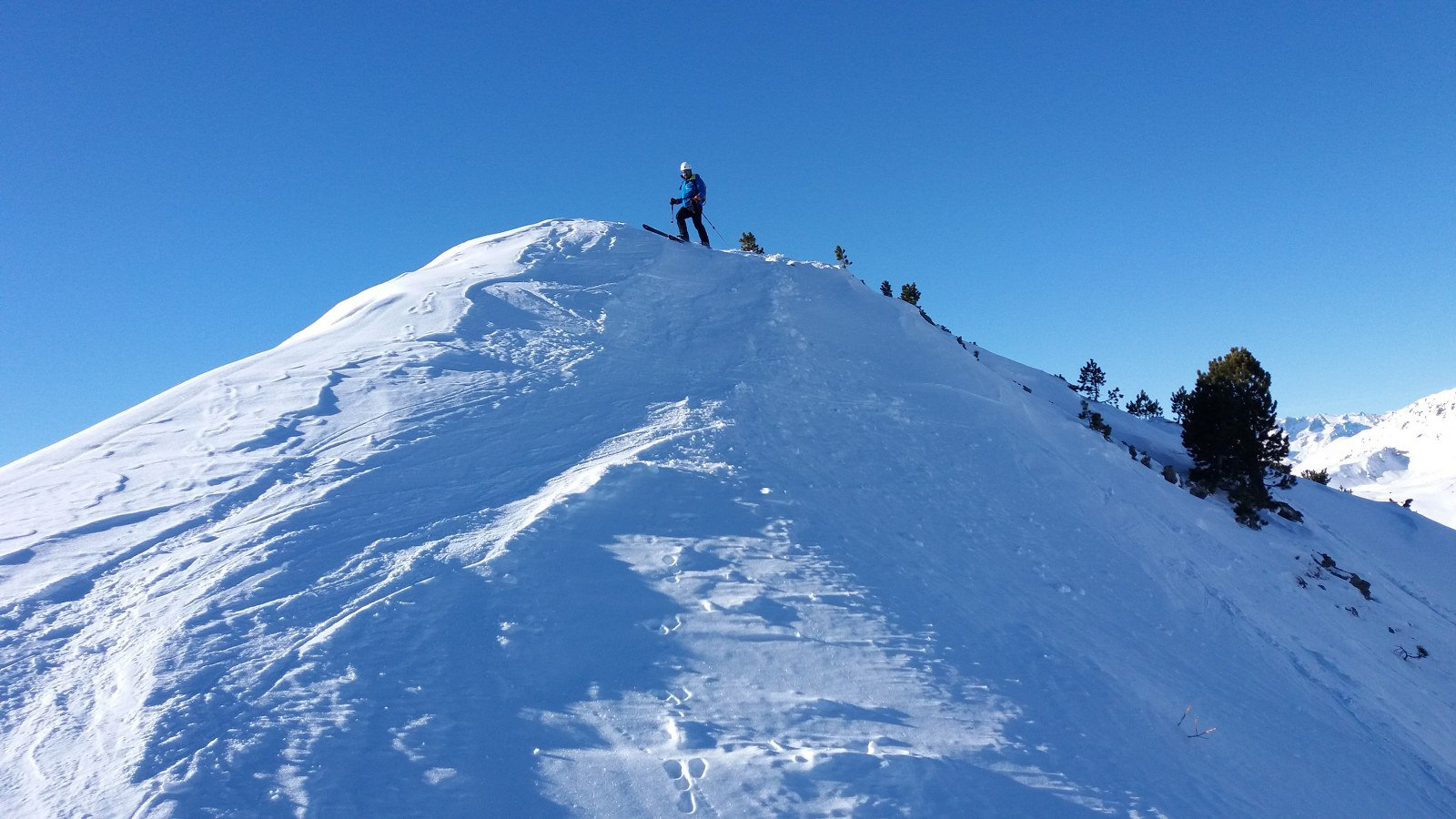 Partenza dalla cima