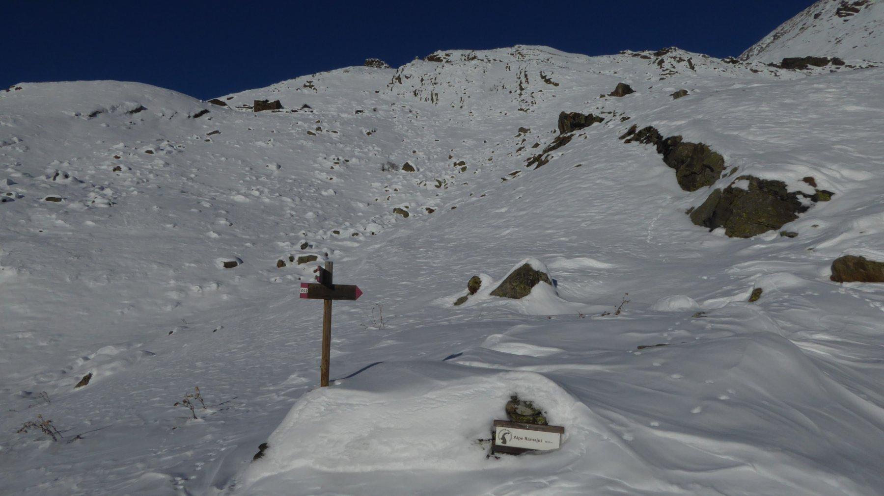 Ruderi Alpe Ramajot