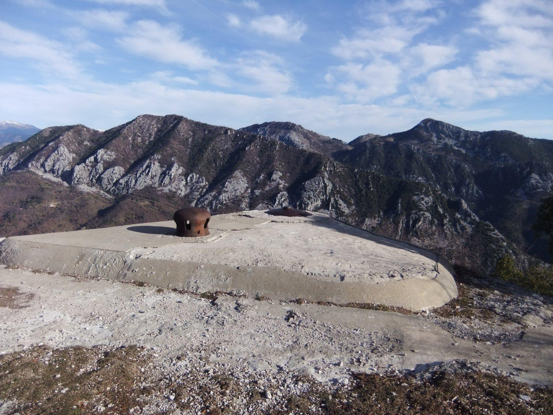 In vetta al Pic de Garuche