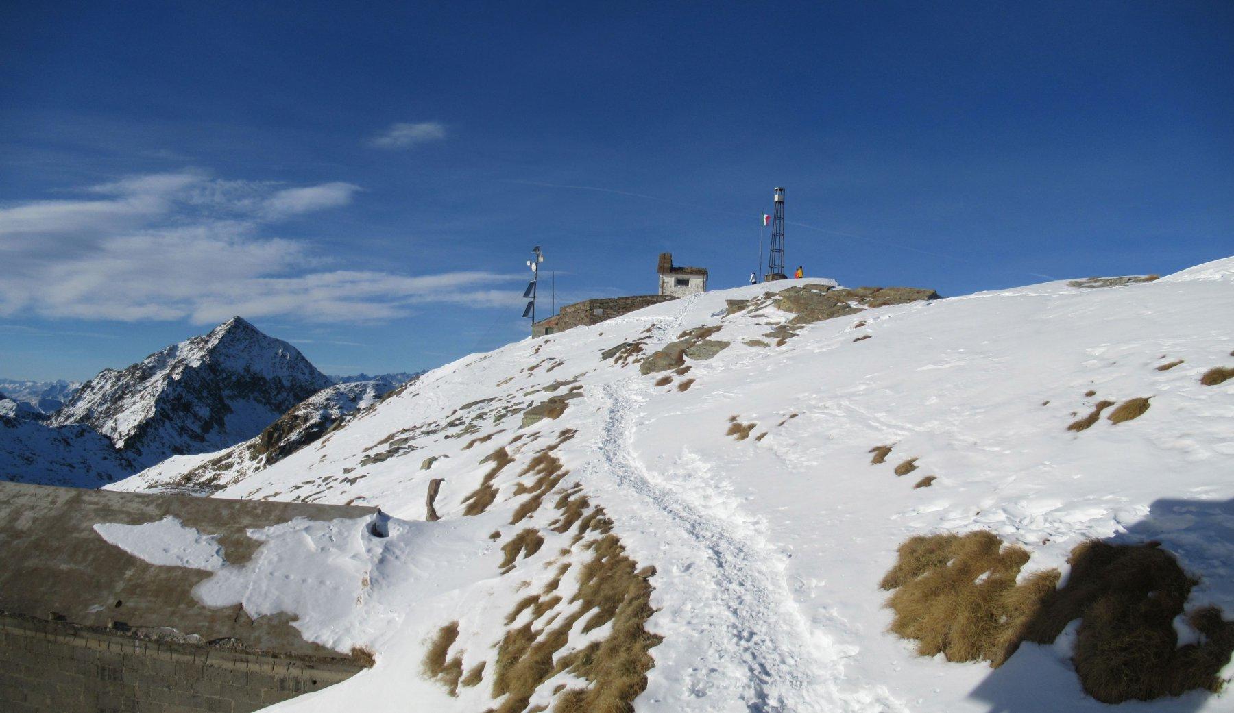 Chiesetta sulla cima del Camino