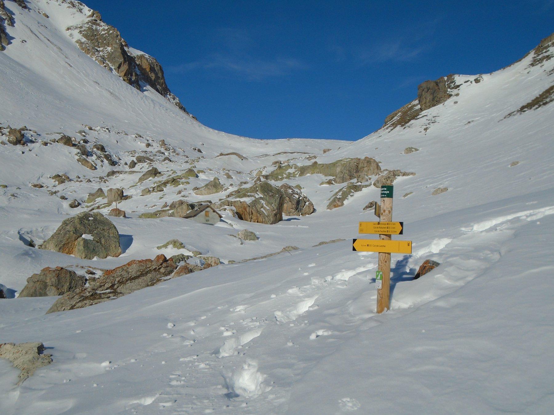 Verso Col de la Gypiere de l'Oronaye