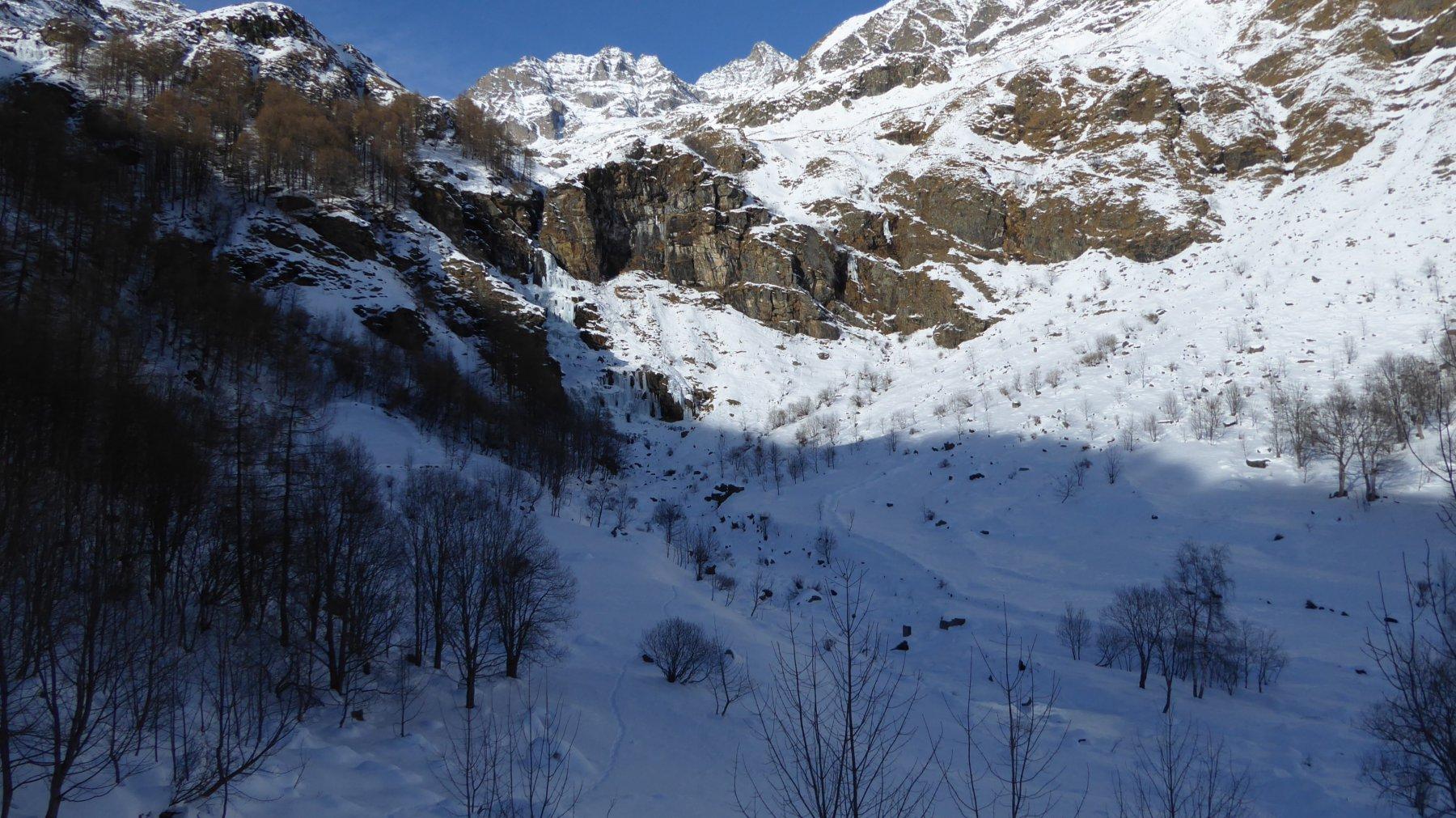 Cascata vista dal Borgovecchio