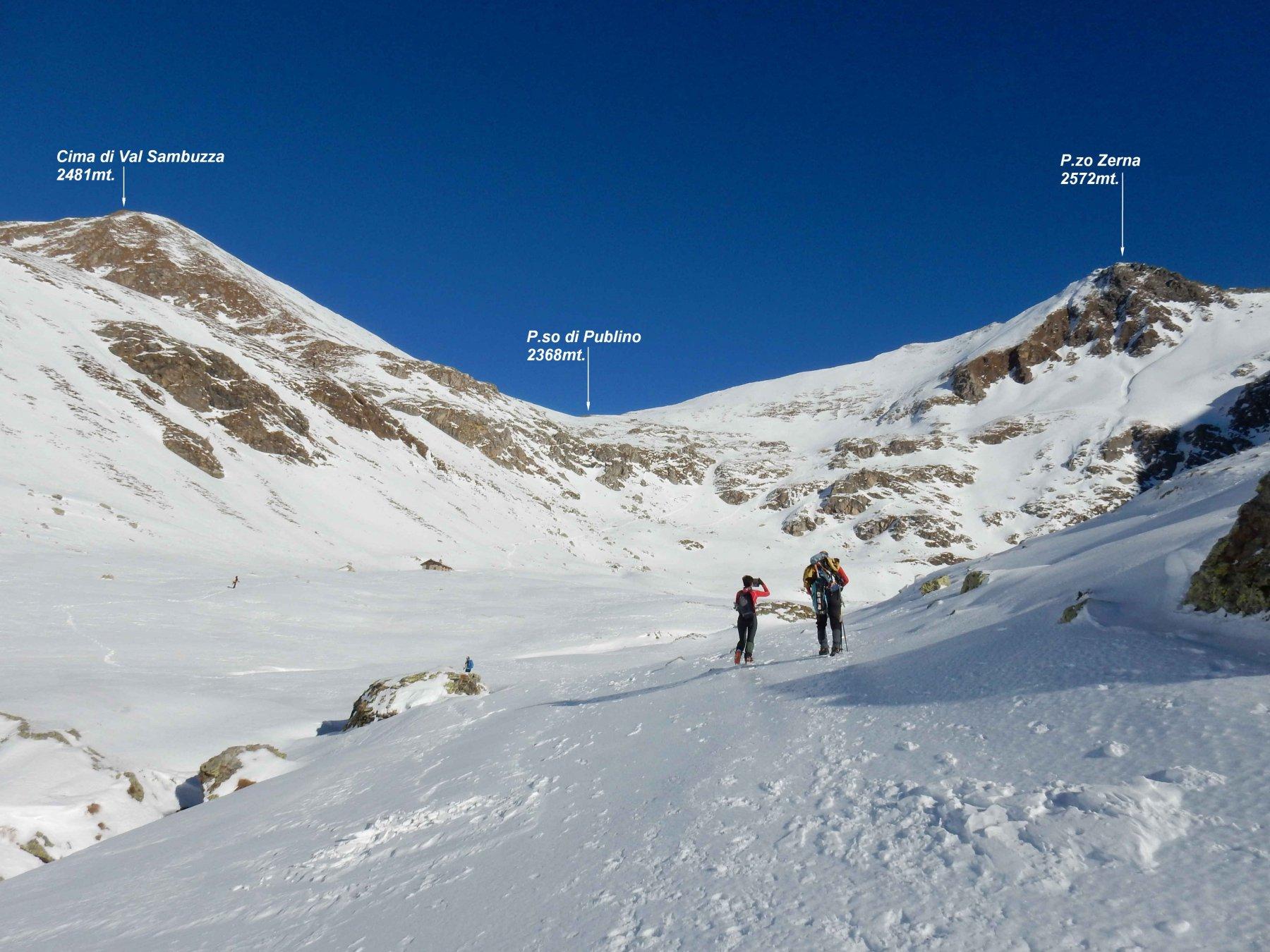 Arriviamo al Lago di Val Sambuzza. 2085mt.