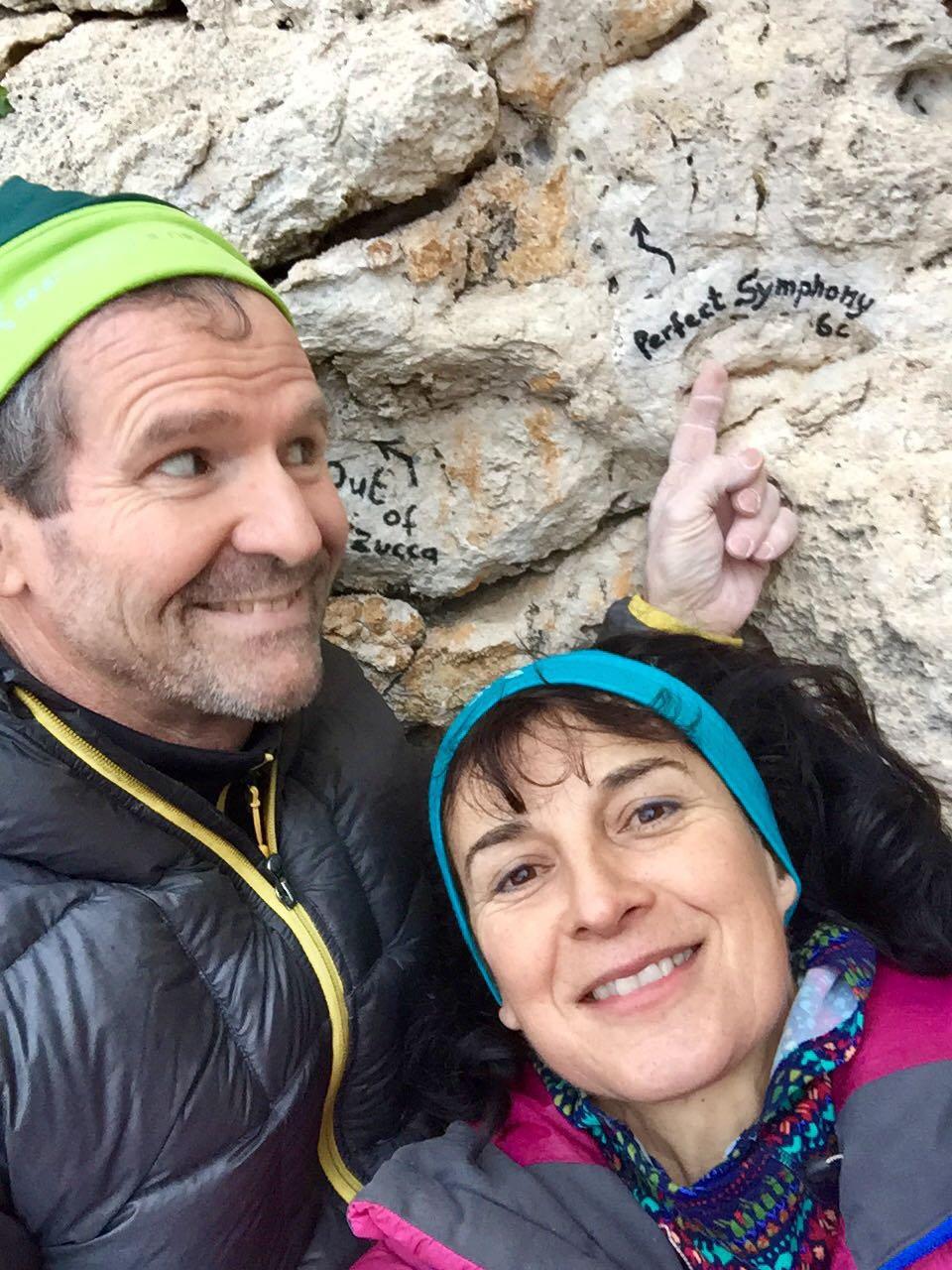 Anna e Mike...ideatori della nuova via