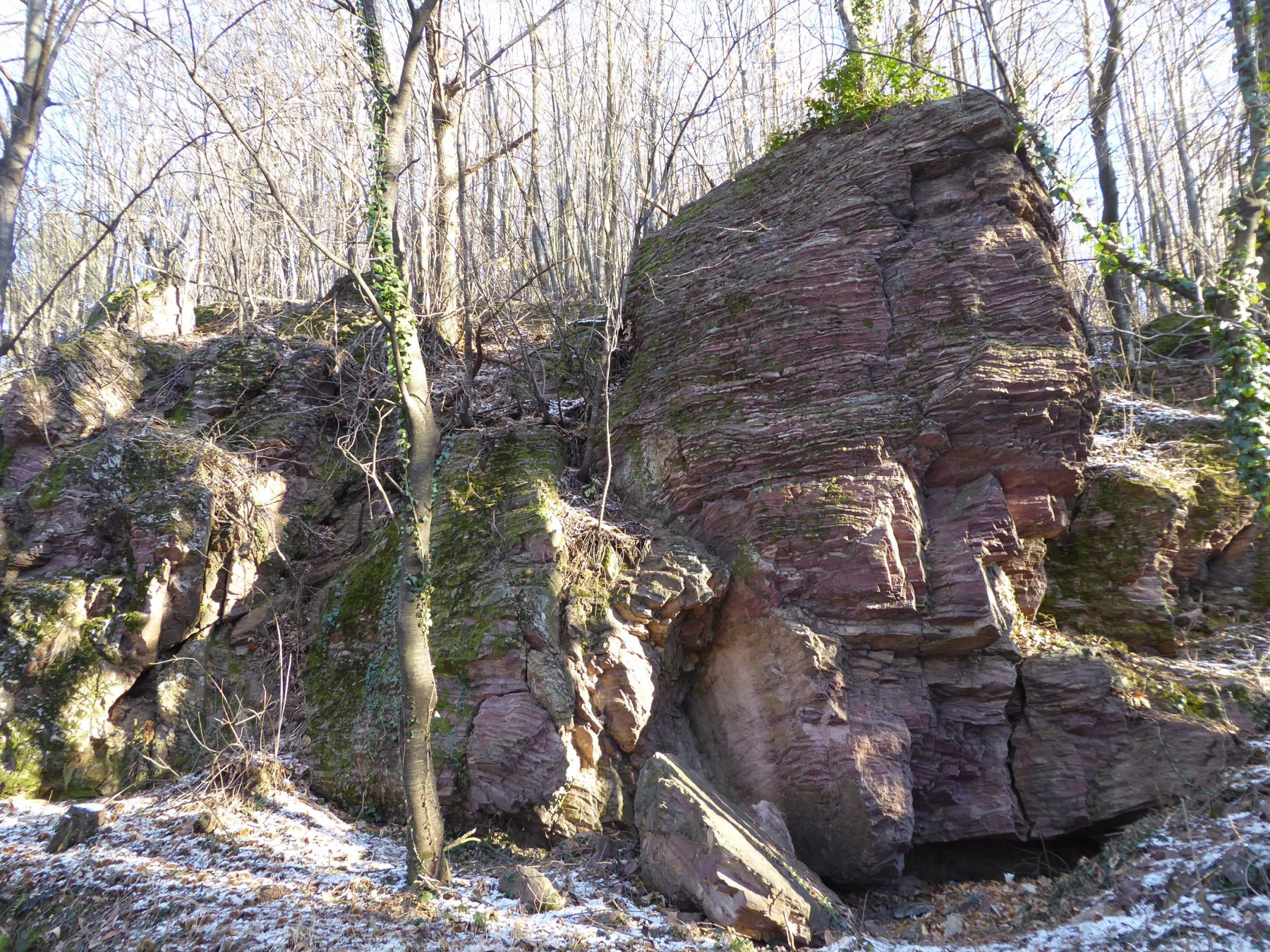 Zona delle Rocce Rosse