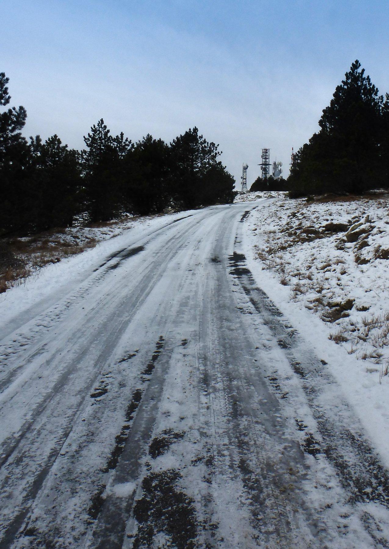 strada gelata
