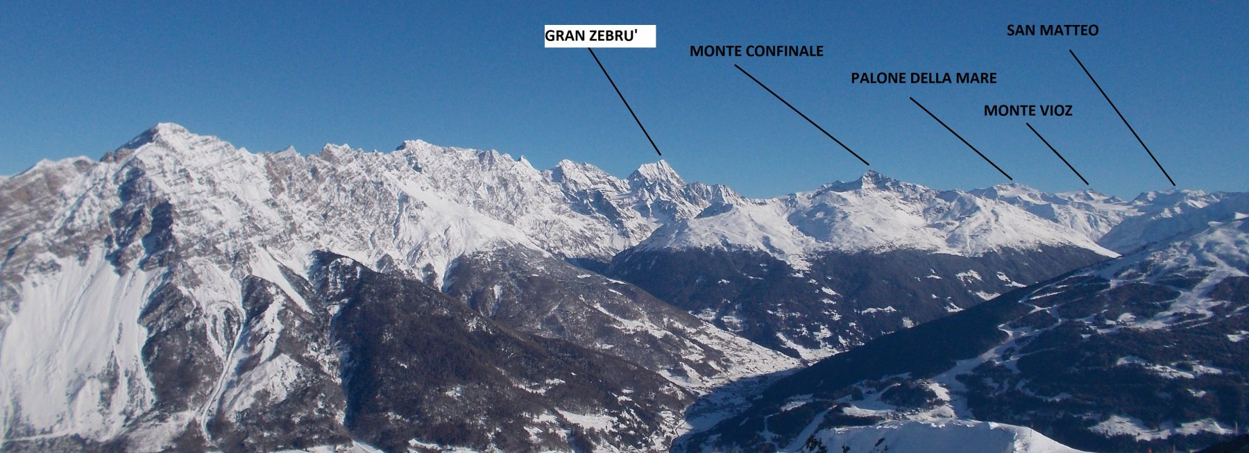 Panorama dal Monte Masucco