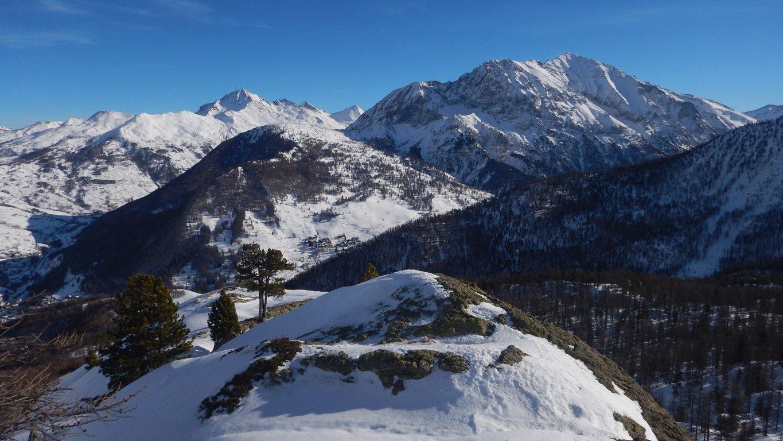 In cima alla Rocca Remolon