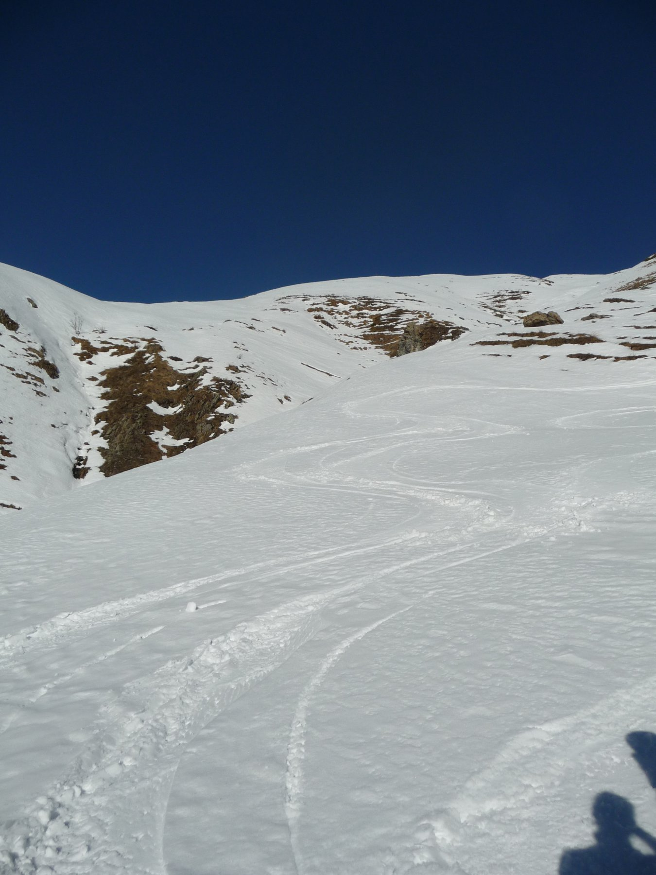 Seconda discesa neve più cotta