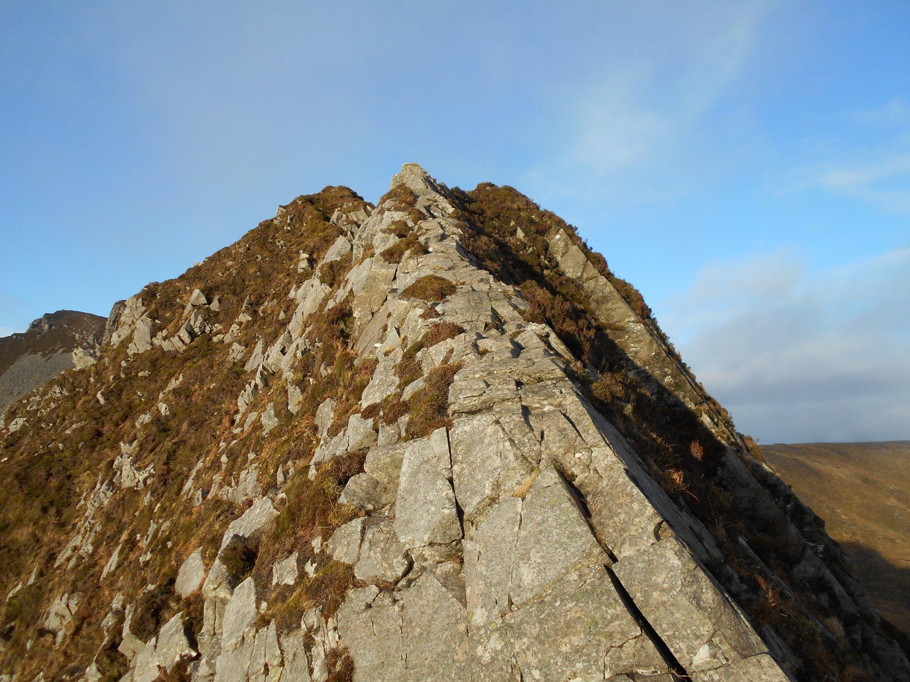 il tratto roccioso