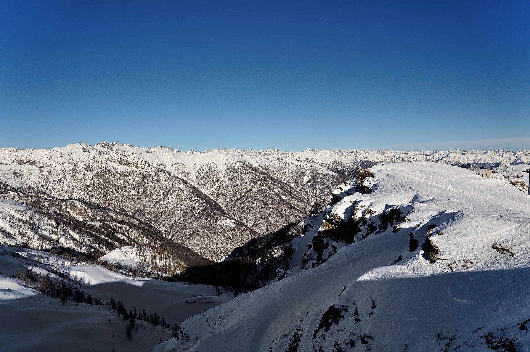 Valle Onsernone vista dal Trubbio