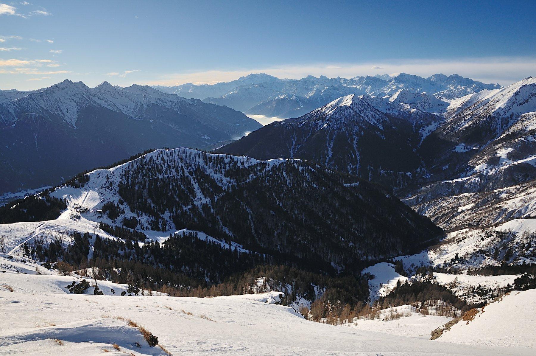 Panorama di vetta dal Trubbio