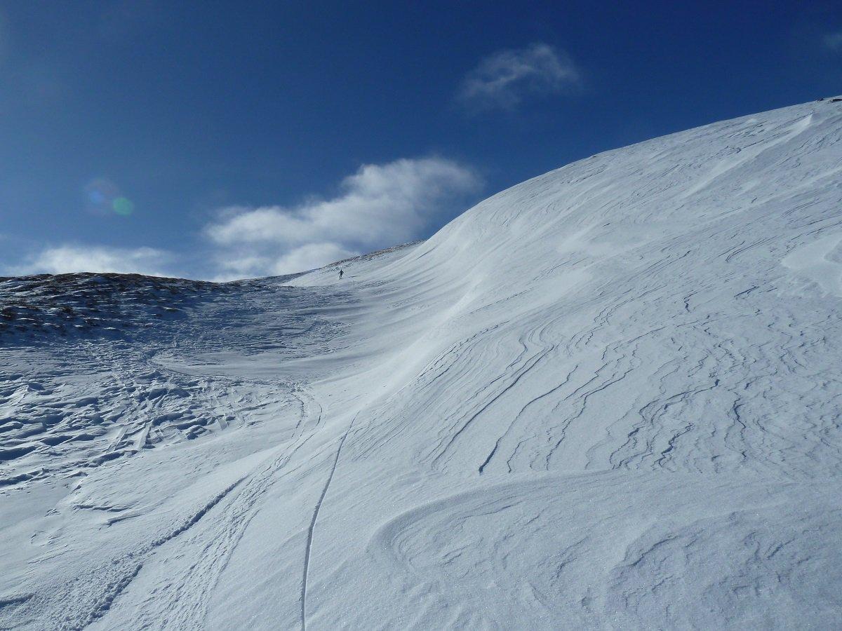 tra le dune di neve