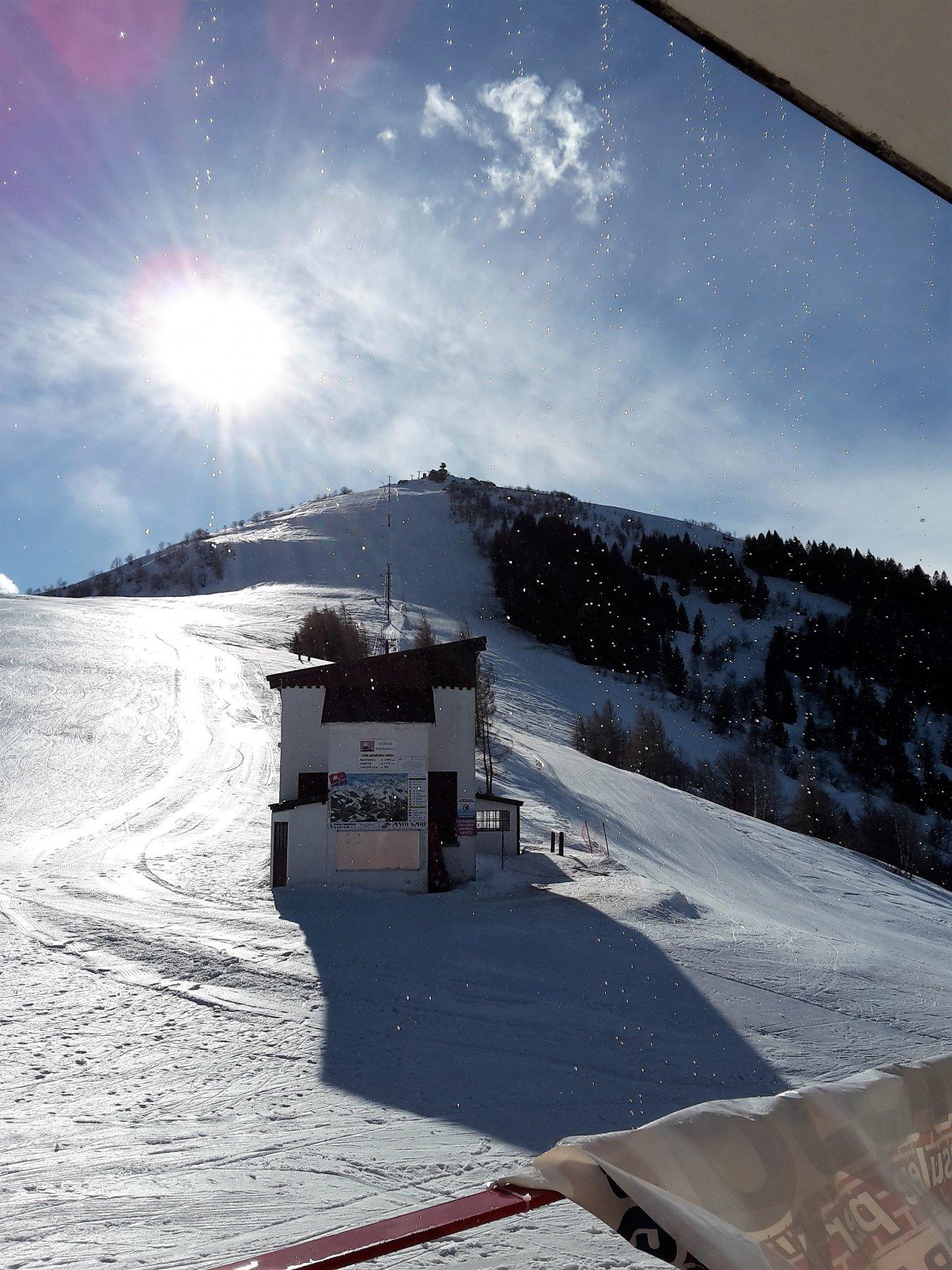 Monte Pigna sullo sfondo