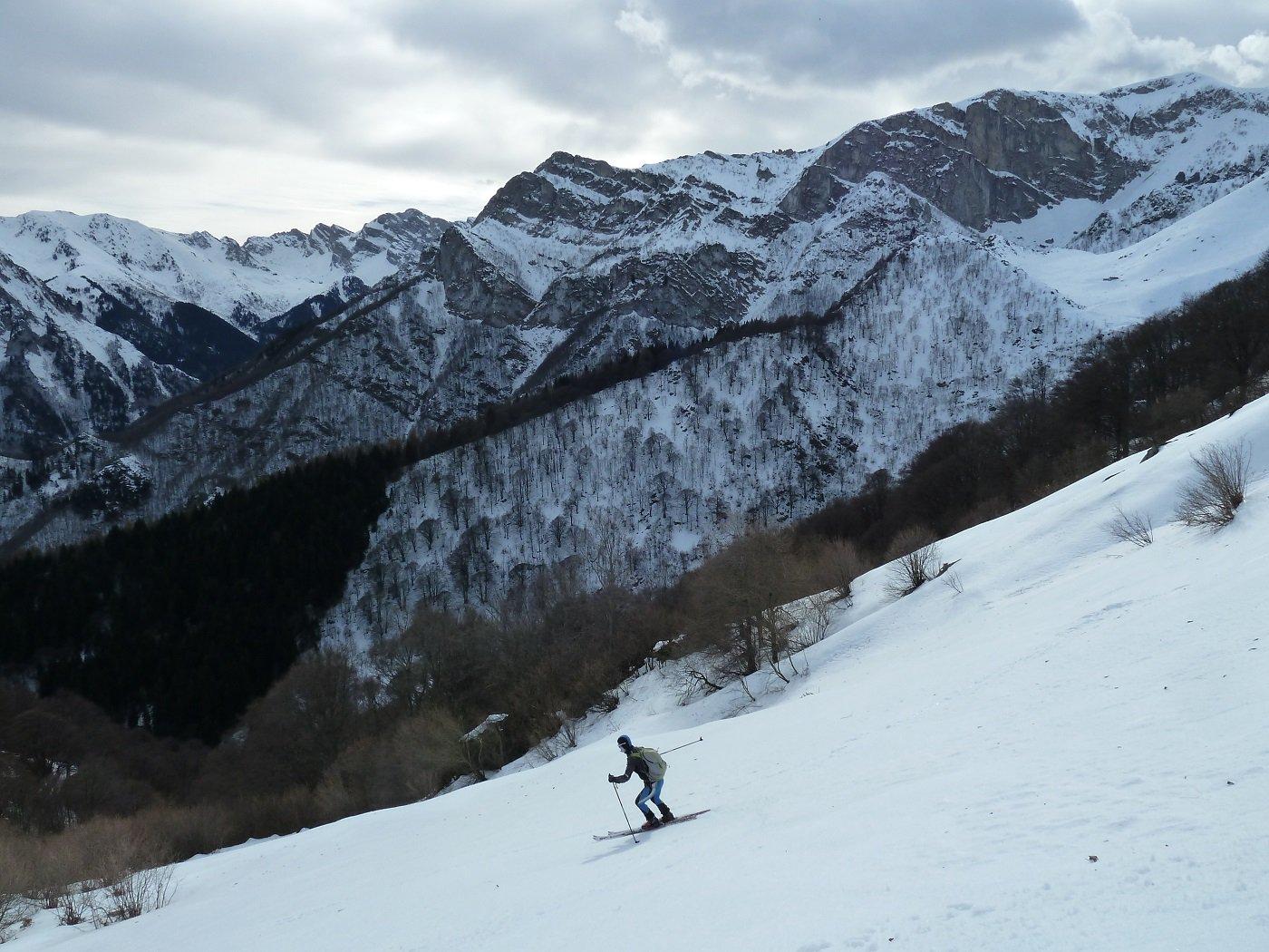 uno sguardo sulla valle Pesio