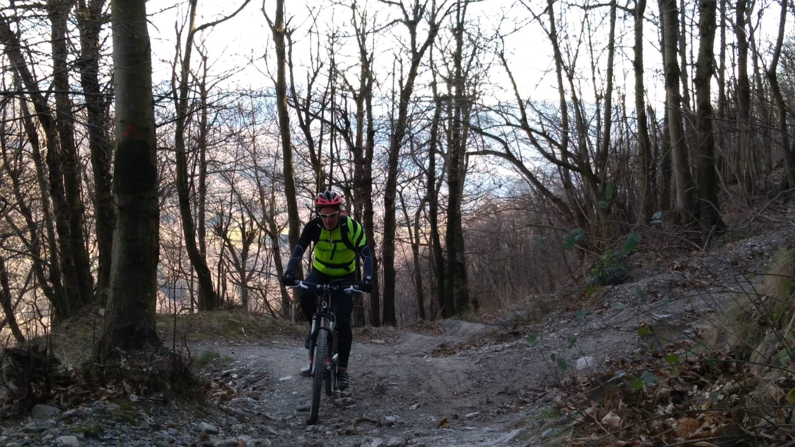 Vittoria (Santuario della) da Pontedecimo, giro dell'Alta Valpolcevera per Costagiutta 2018-01-04
