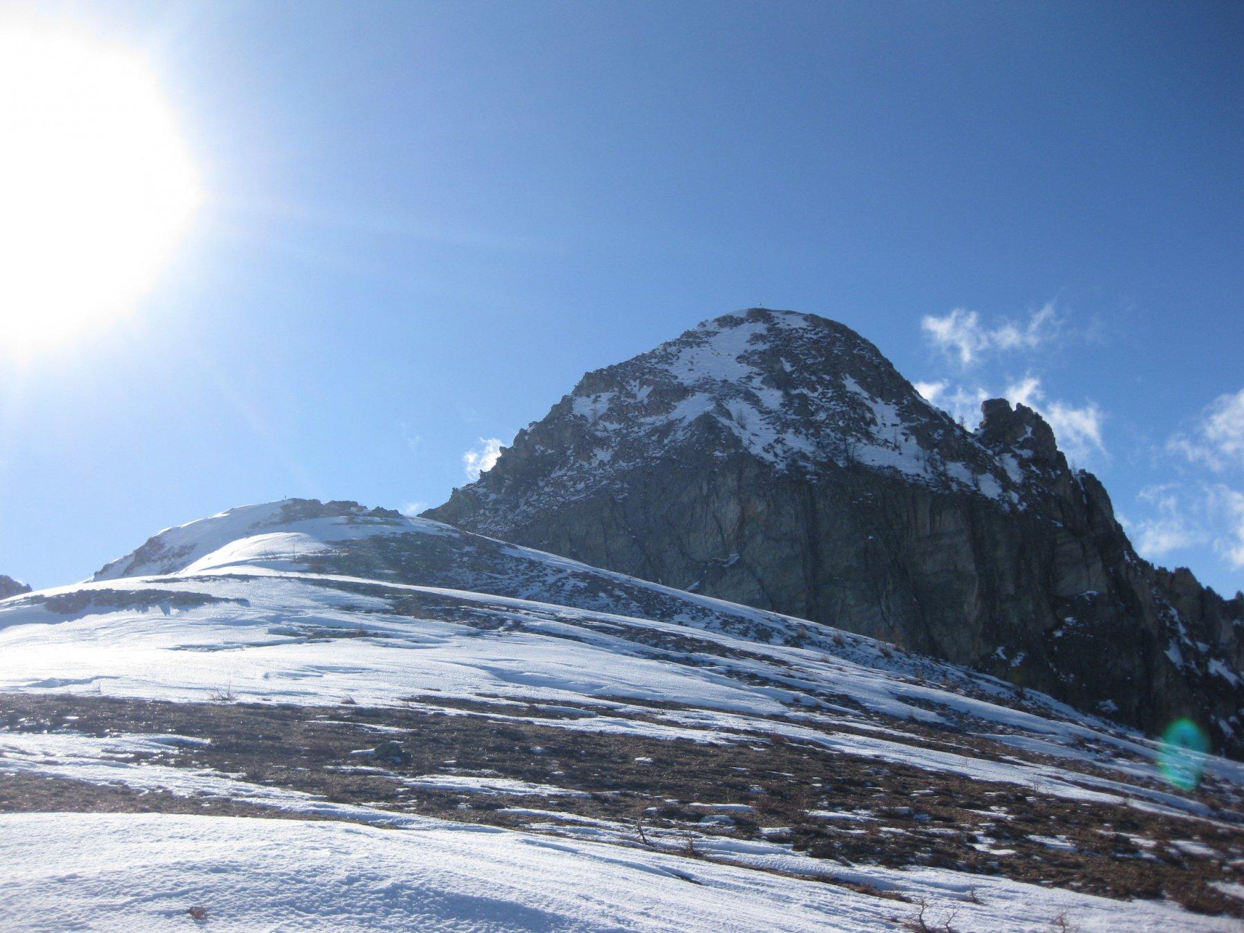 la rocca vista dal Giobert