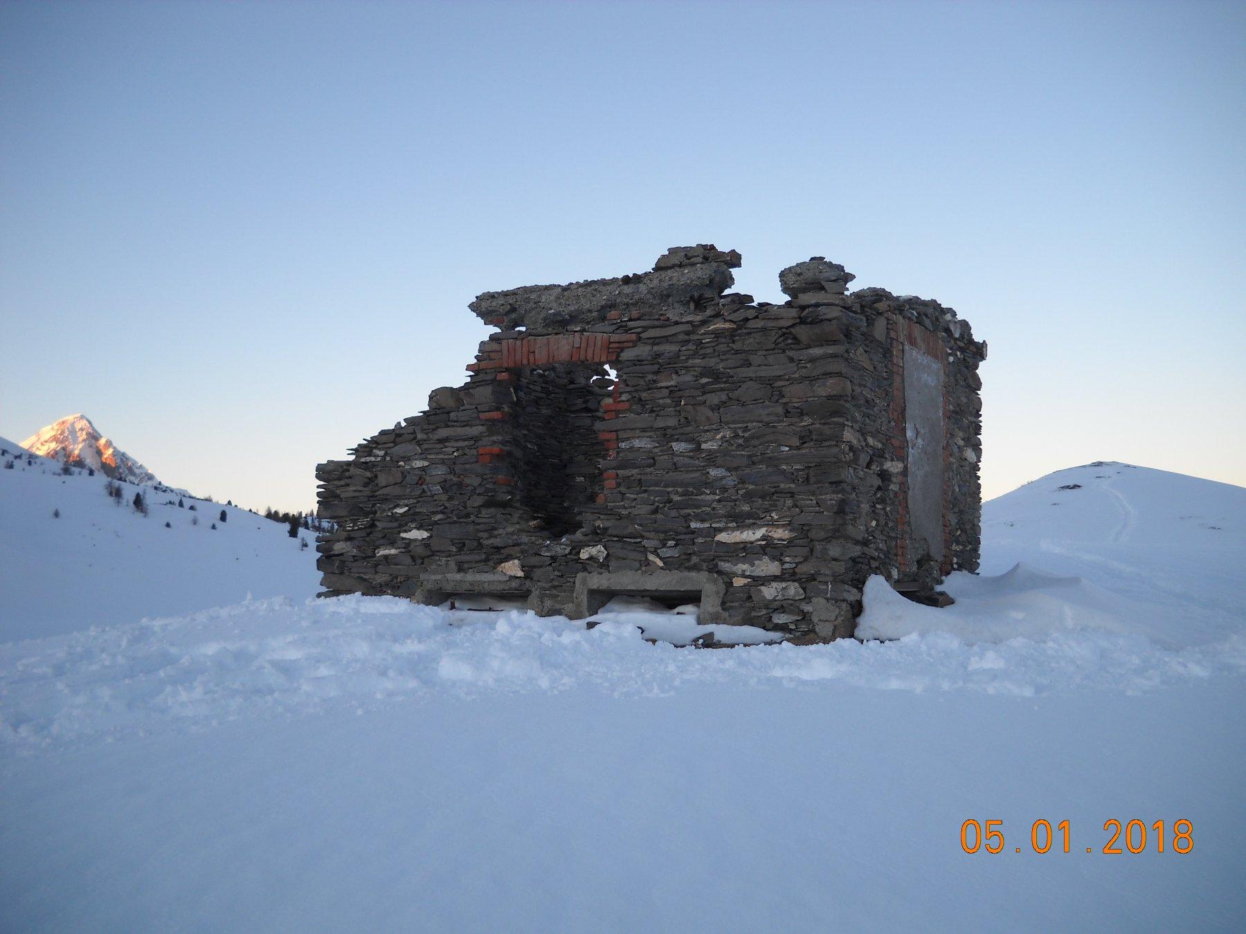 casermetta carabinieri 2210 mt. poggio dx e chaberton sx