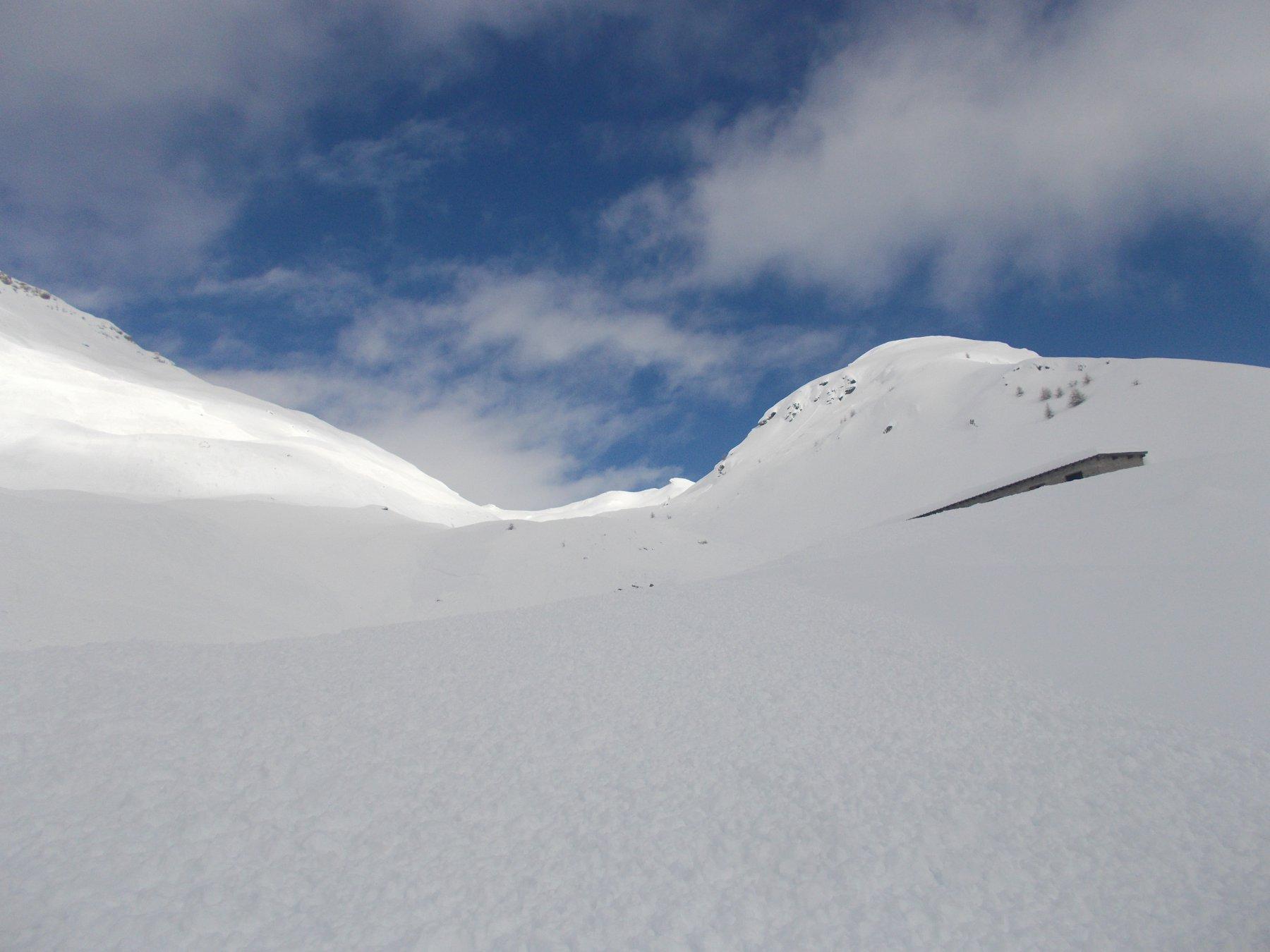 di neve c'e' ne e' davvero tanta..