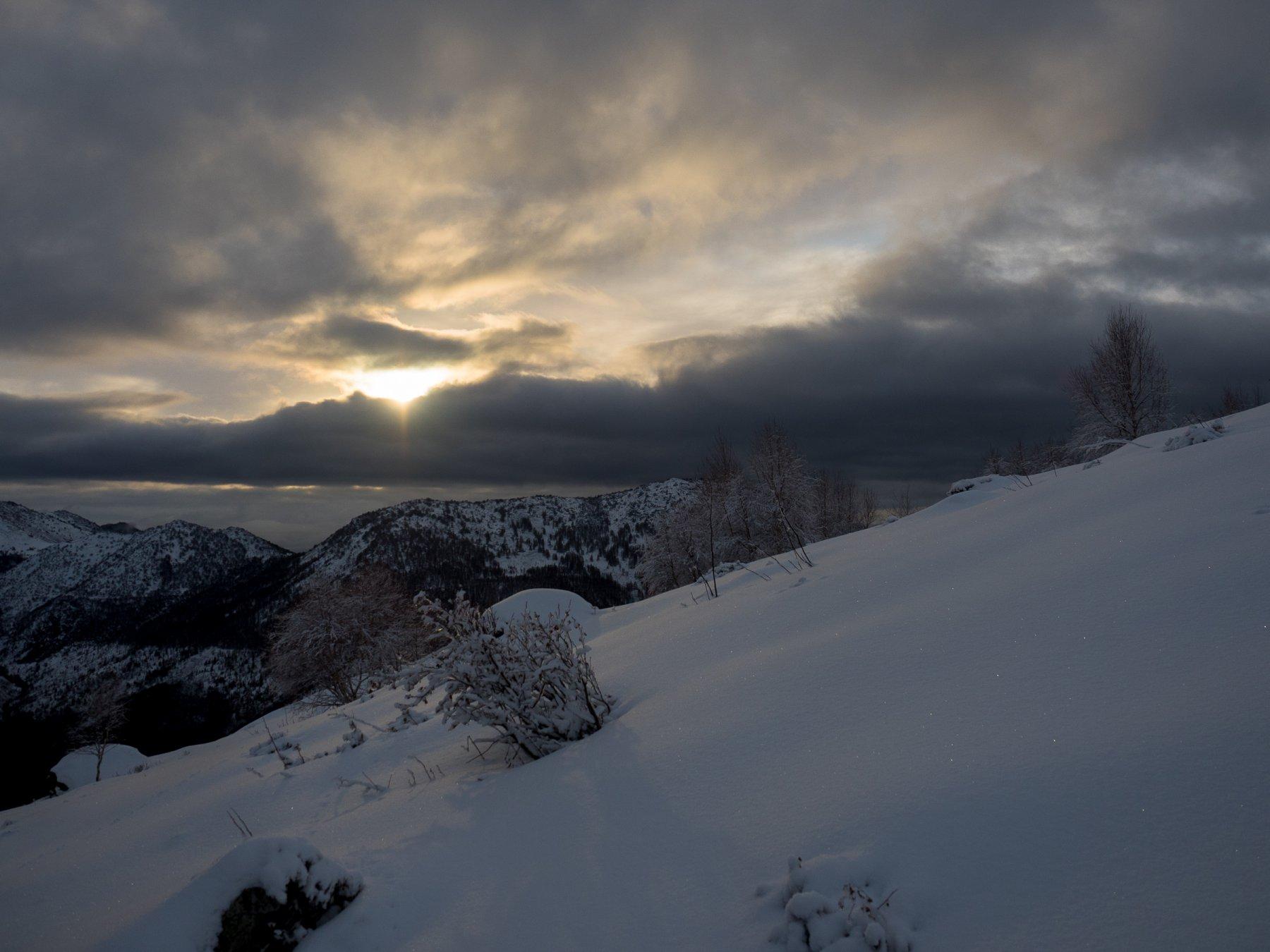 Sourela (Punta) da Col San Giovanni 2018-01-10