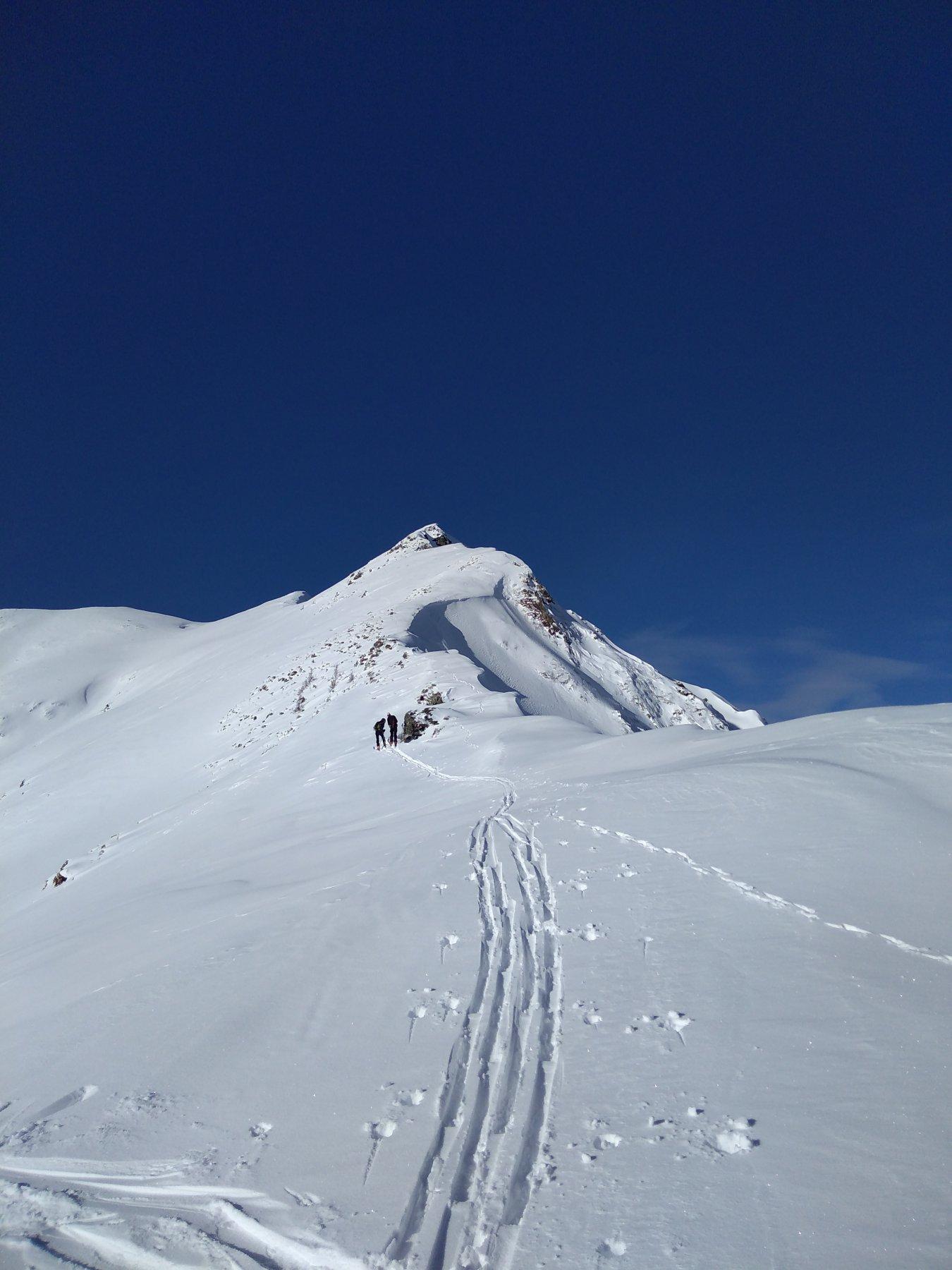 al passo del Tartano, vista del versante sud della Cima di Lemma