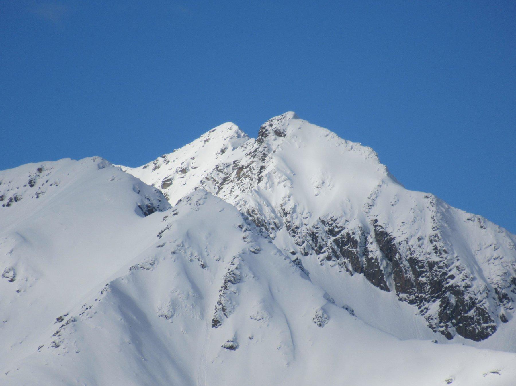 Monte Bo in veste invernale