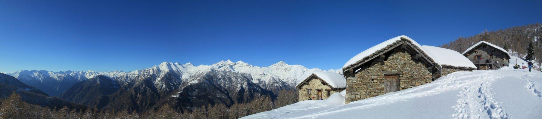 Panorama dall'Alpe Leretta
