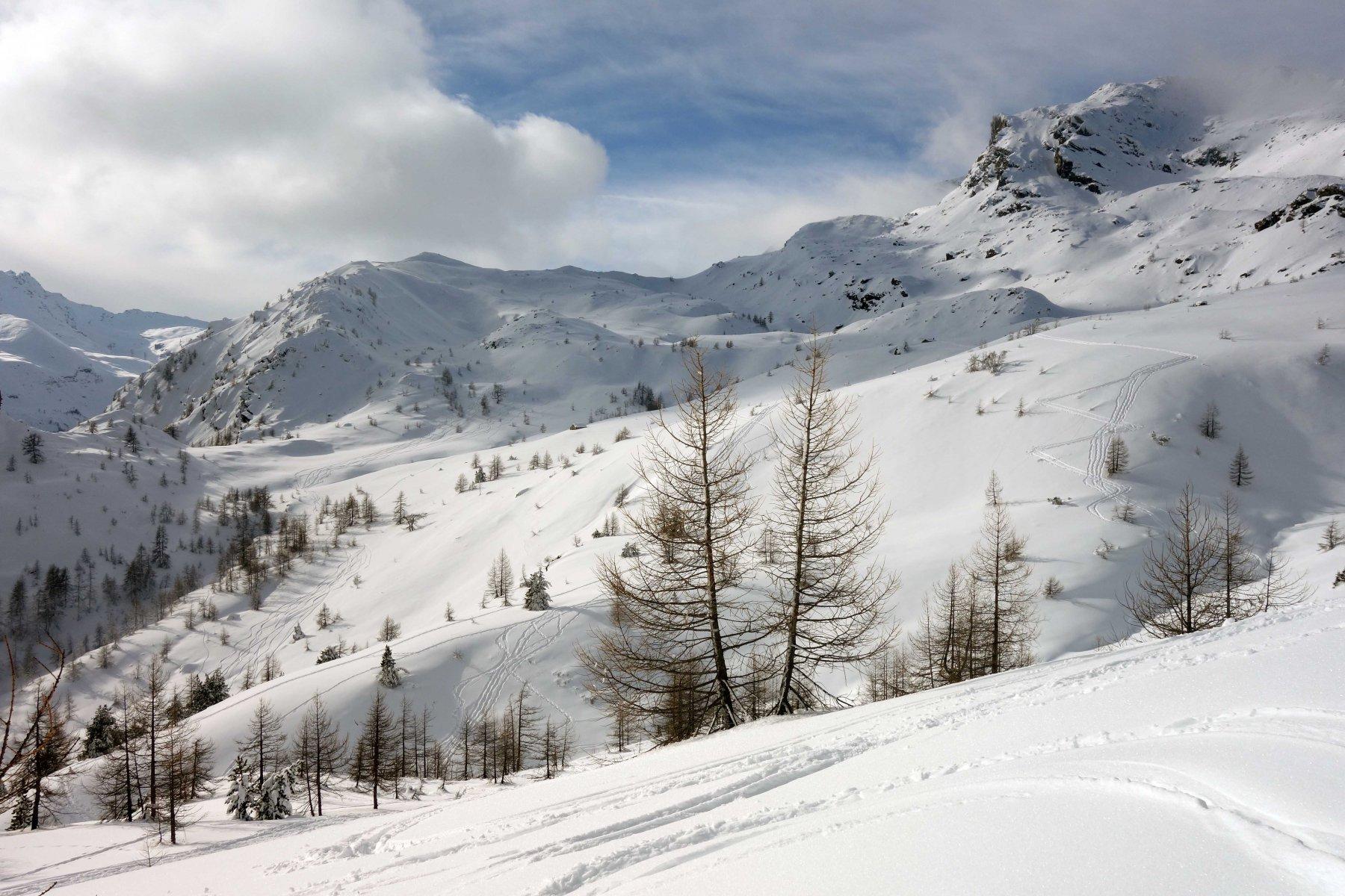 Tracce verso il Mont Ros