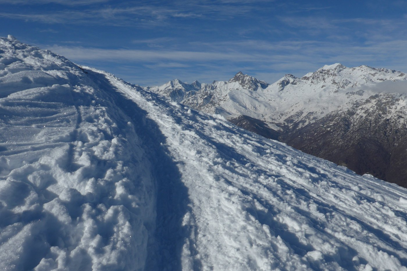 Panorama sull'alta valle di Viù