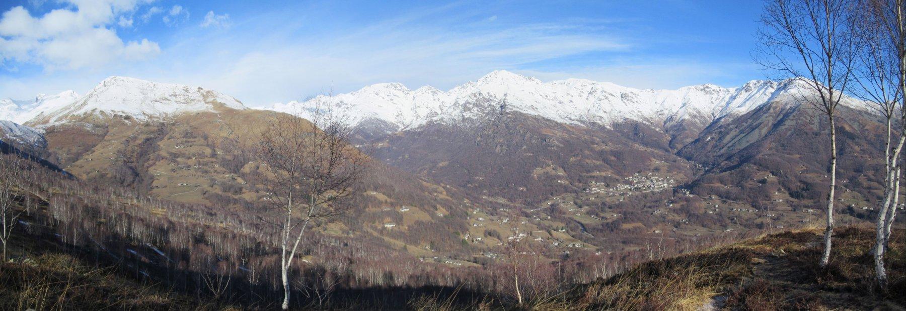 Vista sulla Valchiusella