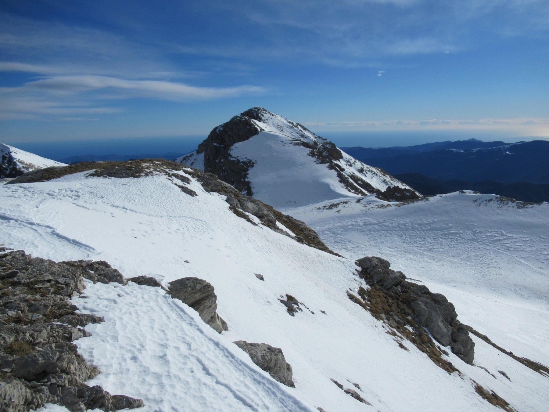 Il Bric Conoia dal Monte Rotondo.