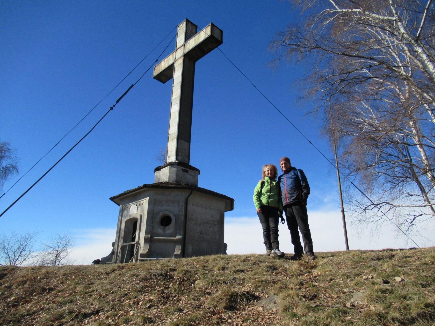 Con mia moglie al Monte Fenera