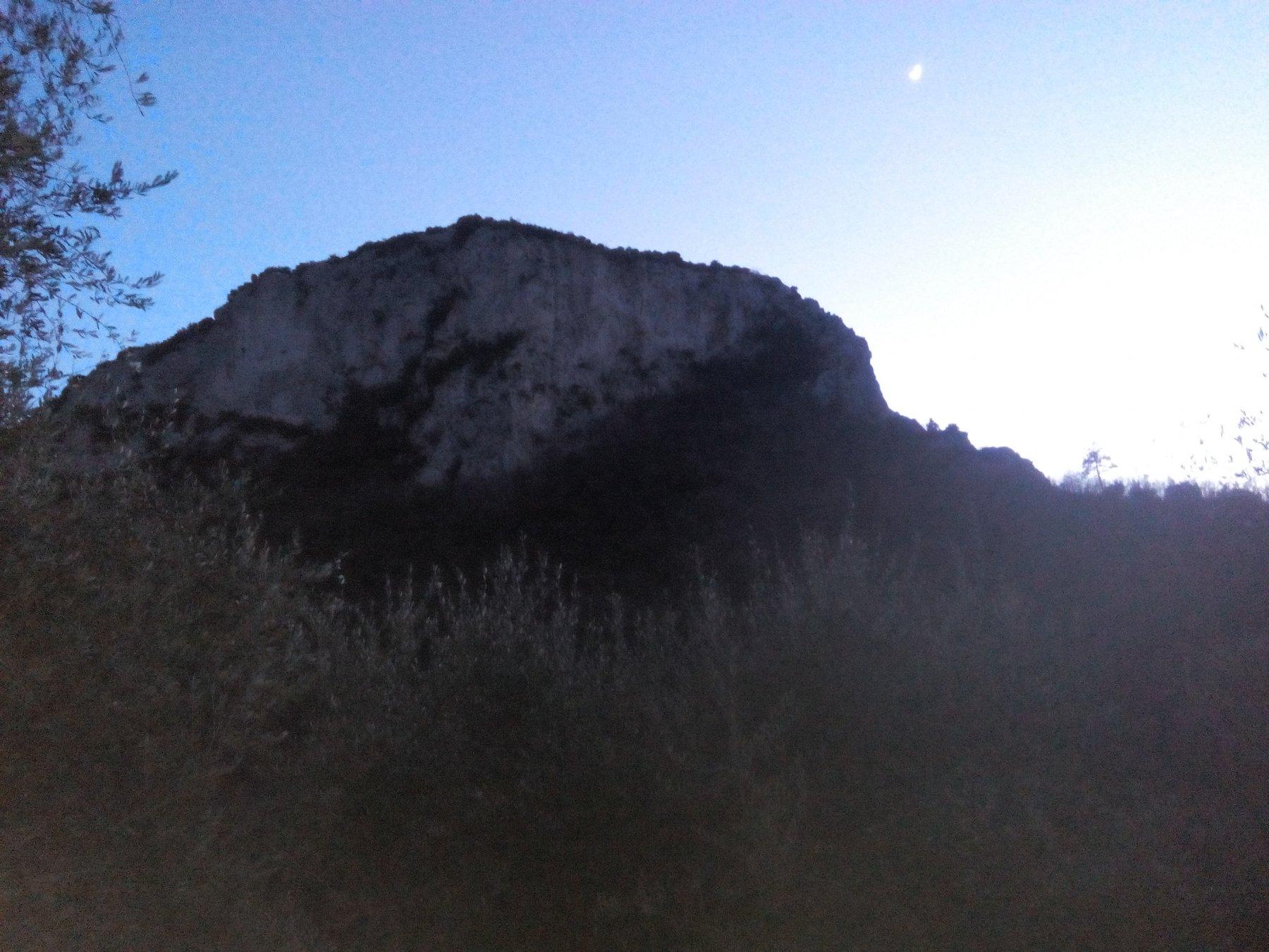 tramonto su Perti nord