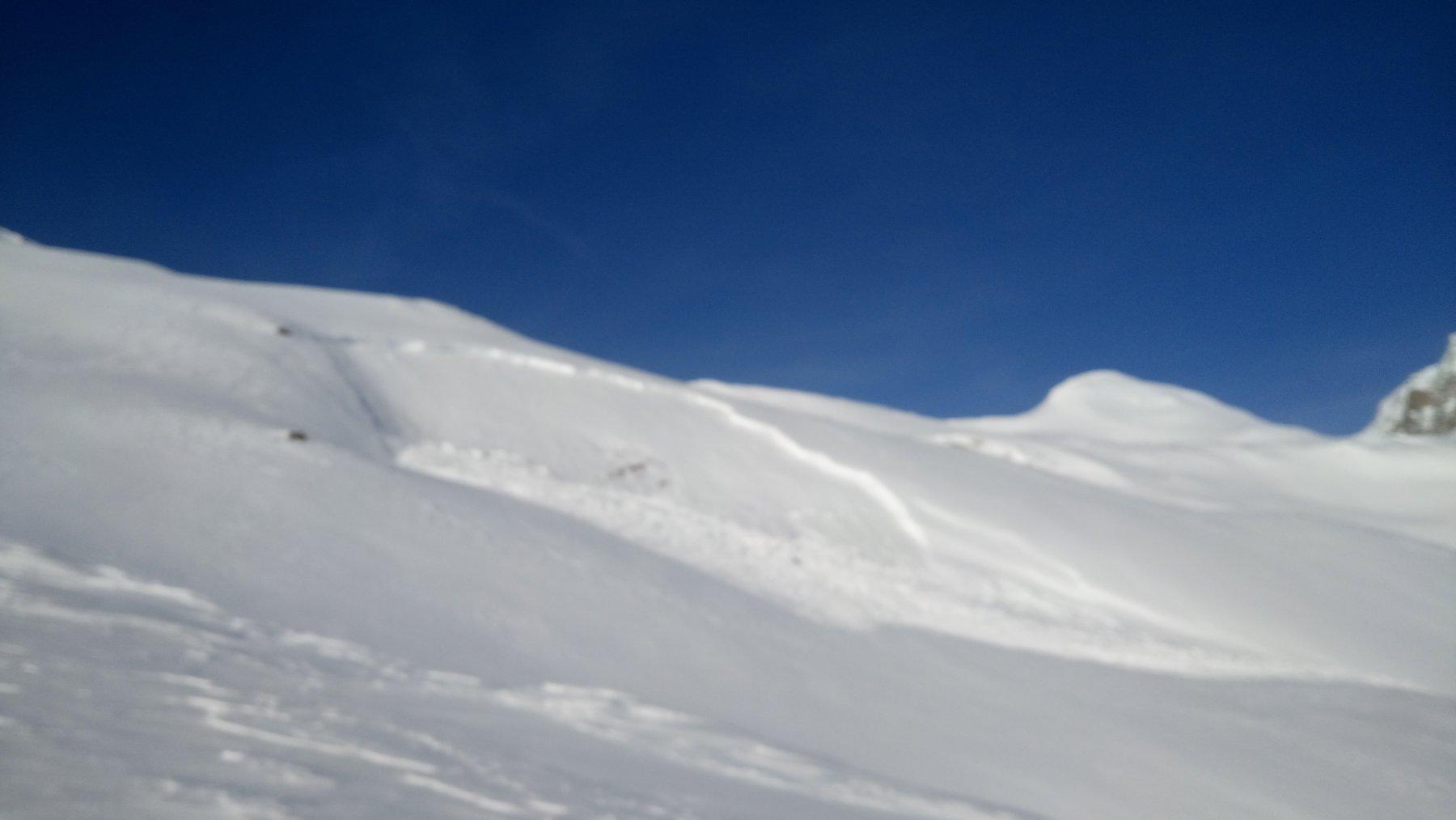 Valanga a lastroni versante Chilchalpluche viste parecchie tutte rivolte in pieno sud