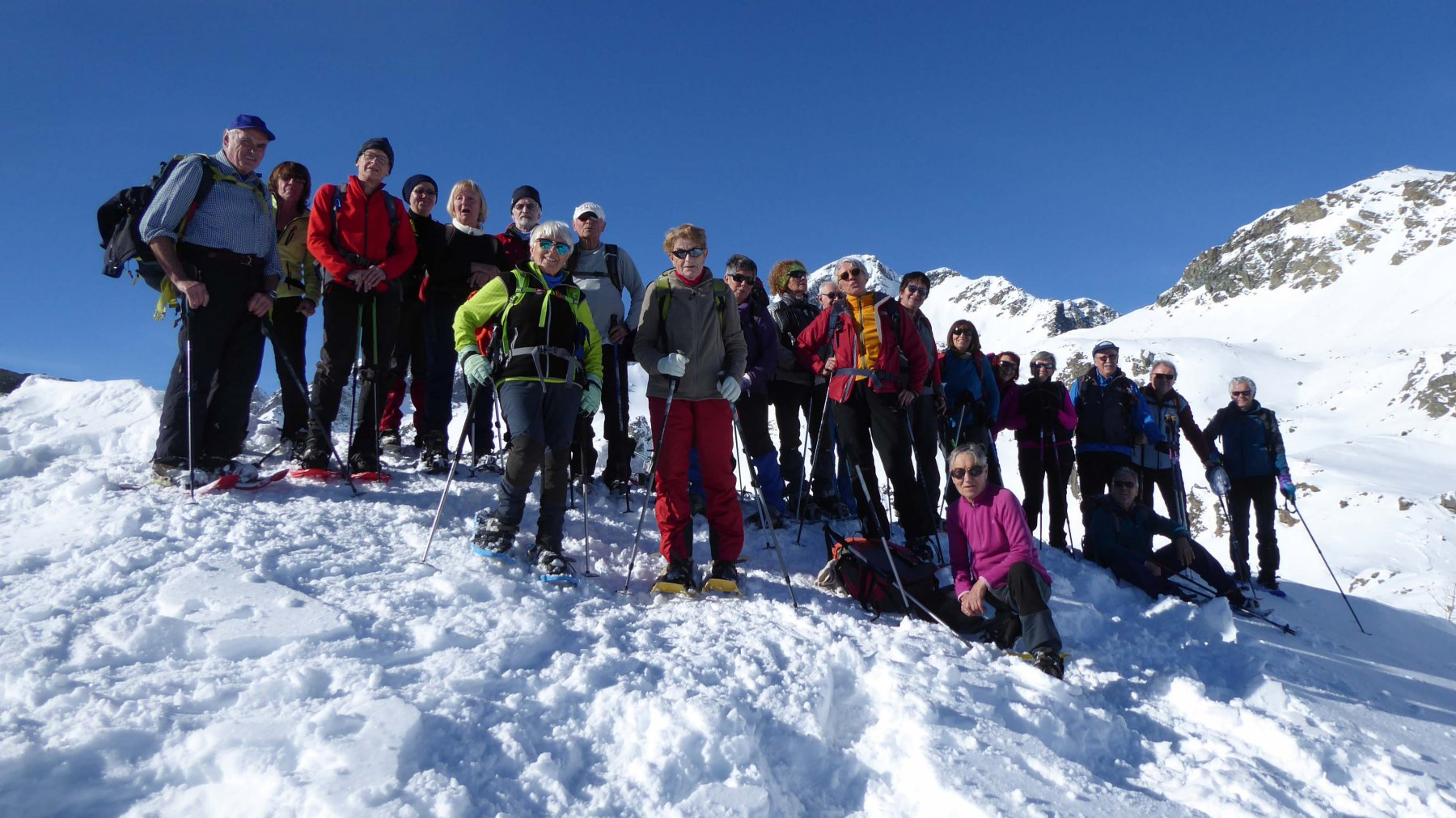 SENIOR  in vetta al Mont Ross 2289 m.