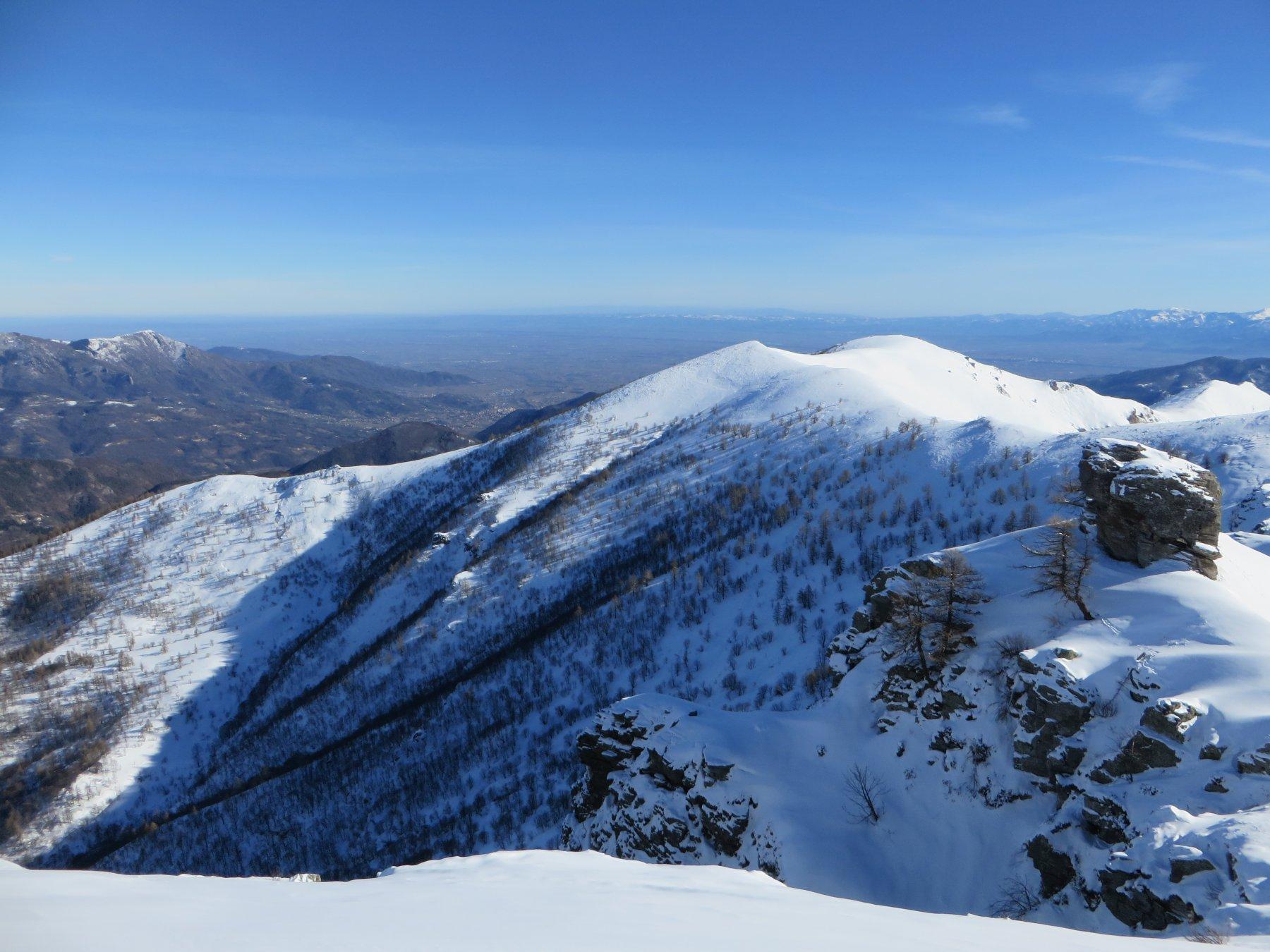 Dal Monte Plum sguardo verso valle